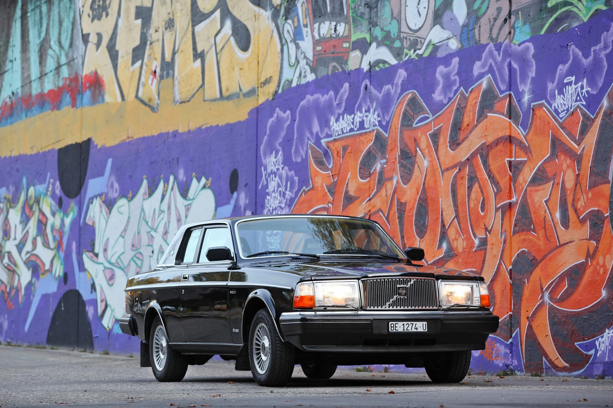 1981 Volvo 262C David Bowie Front Three Quarters
