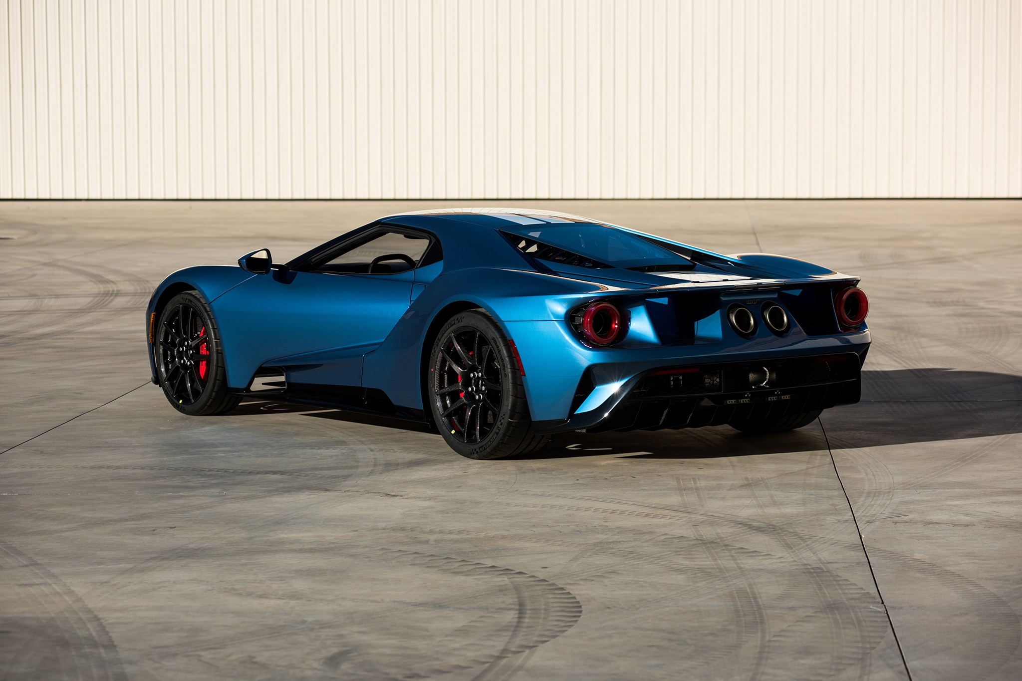 2017 Ford GT Barrett Jackson Rear Three Quarters