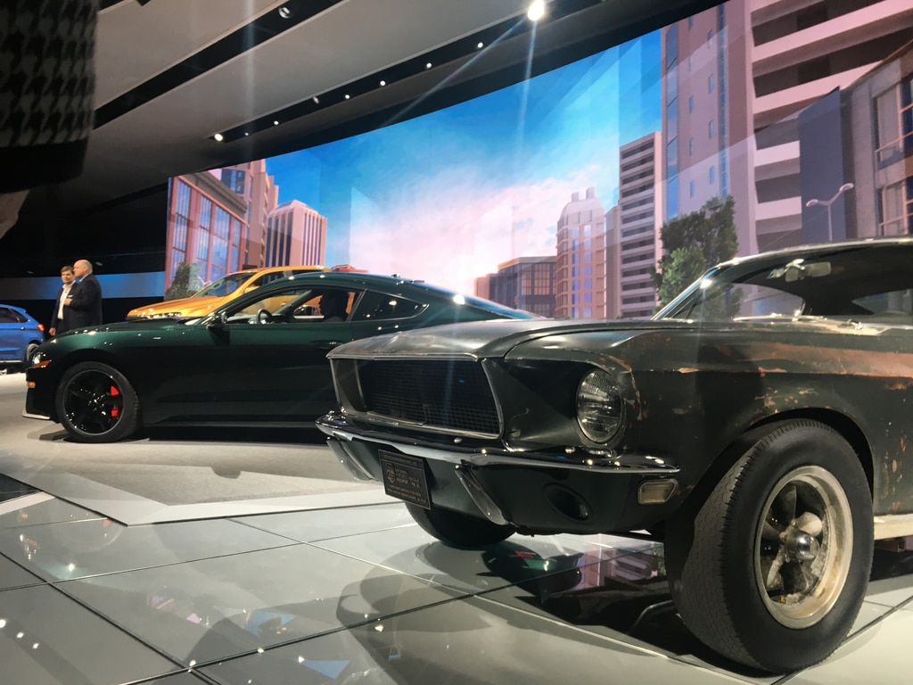 2018 ford mustang bullitt is back for films 50th auto breaking news