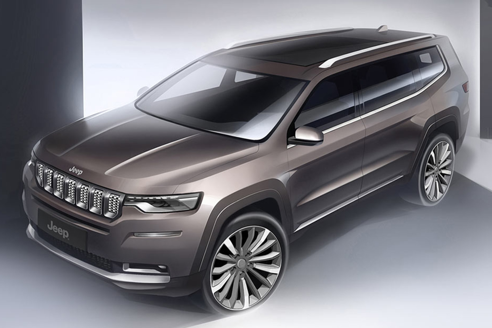 2018 Jeep Grand Commander Revealed For China Automobile