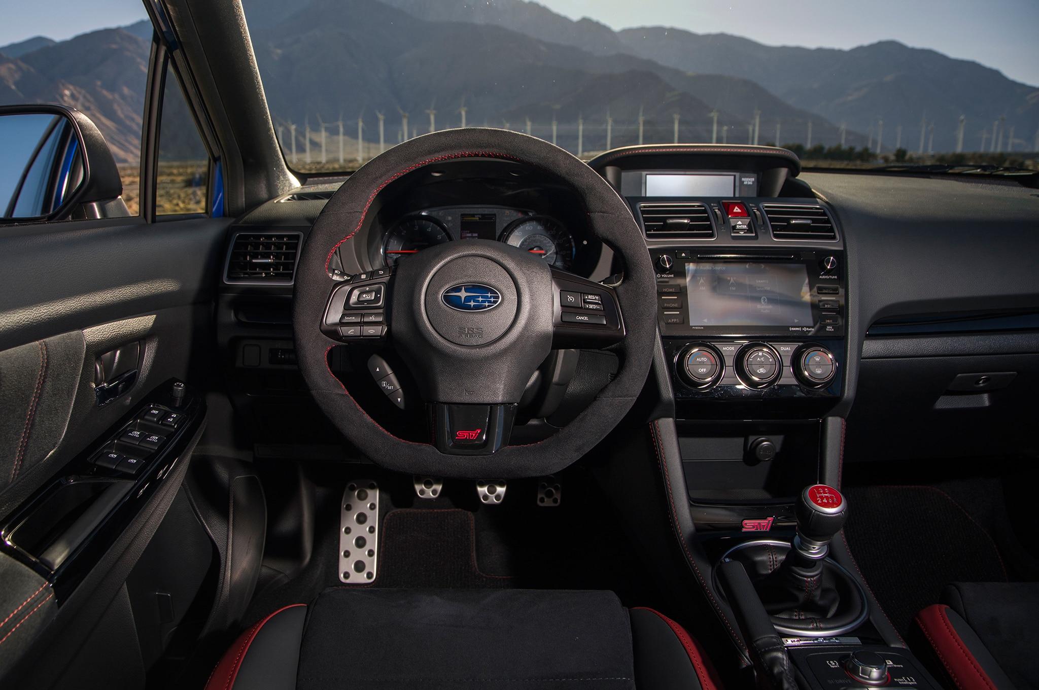 2018 Subaru WRX STI Type RA First Drive Review ...