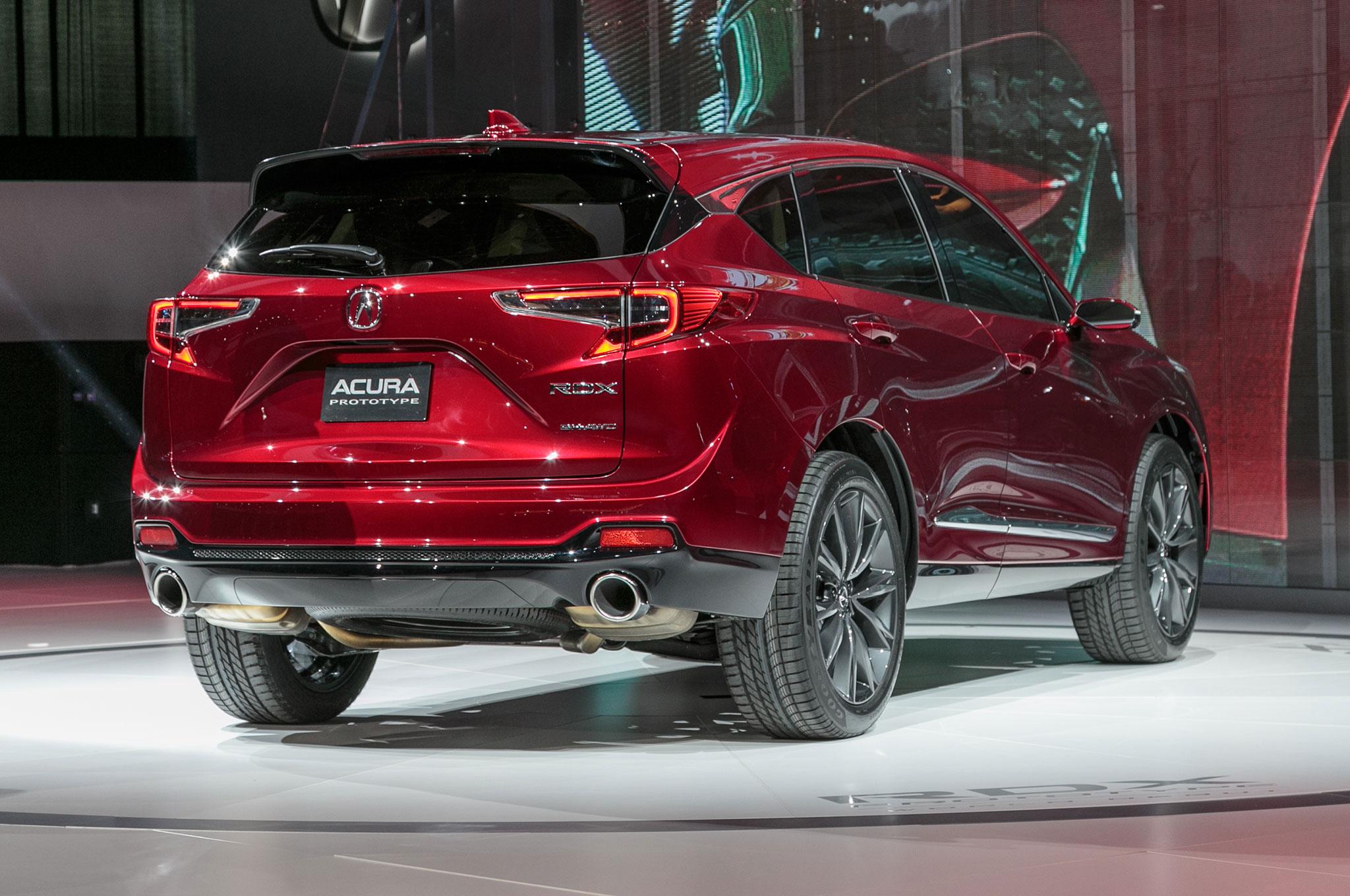 2019 Acura RDX Prototype Preps For More Acronyms