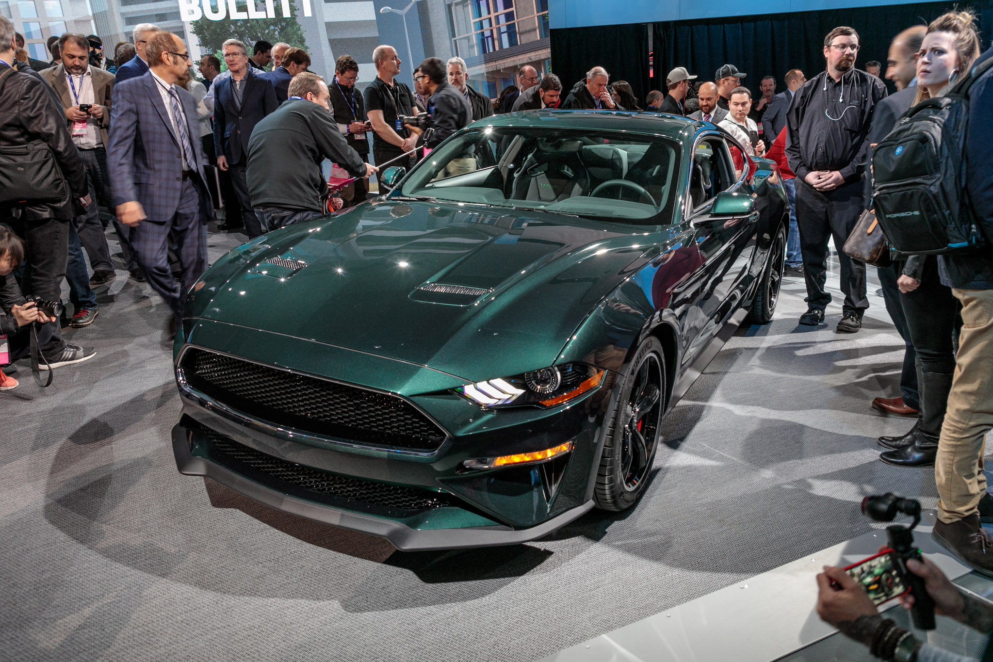 First 2019 Ford Mustang Bullitt Hammers for $300,000 at ...