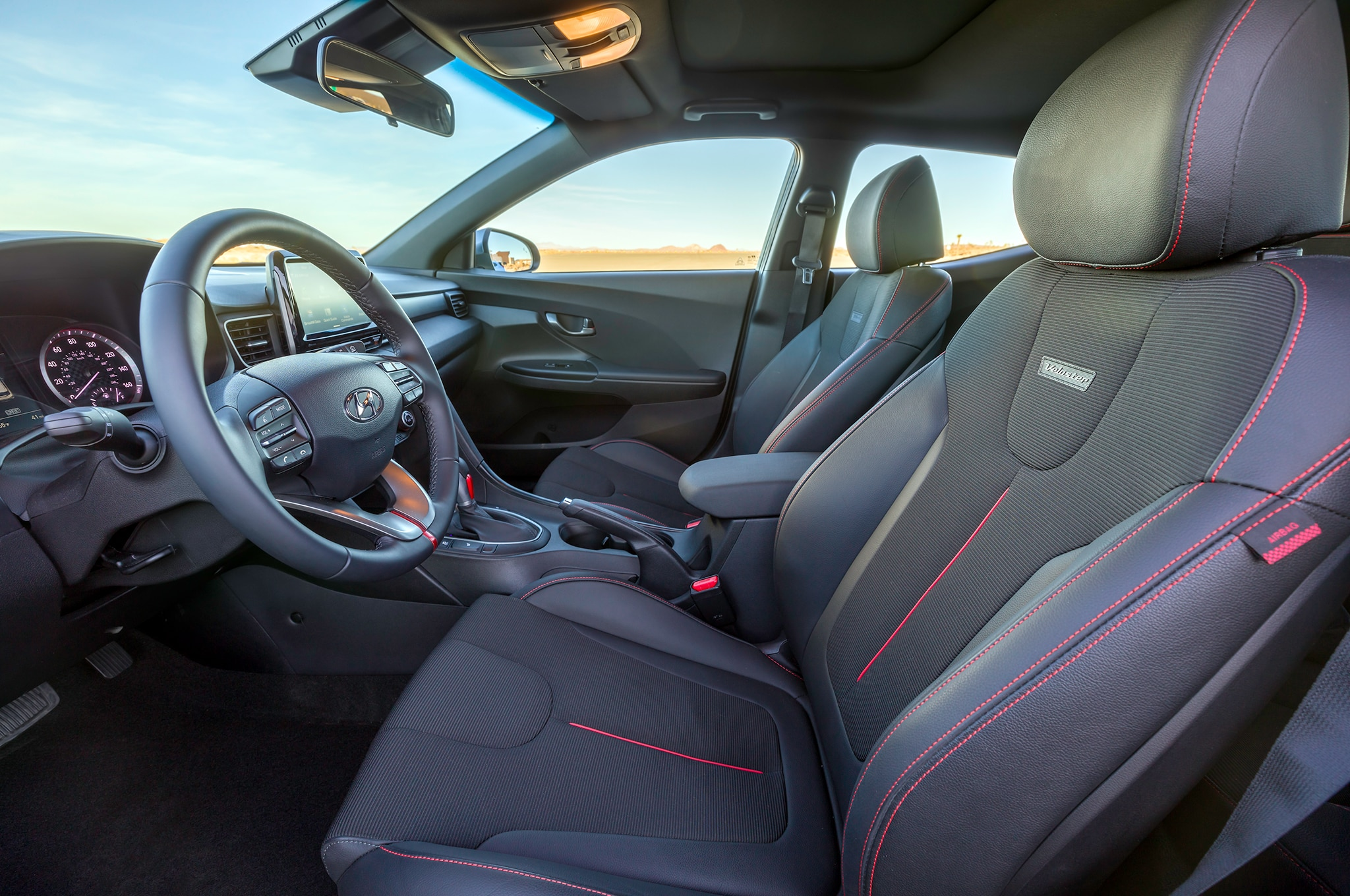 First look 2019 hyundai veloster and n performance model for Hyundai veloster interior