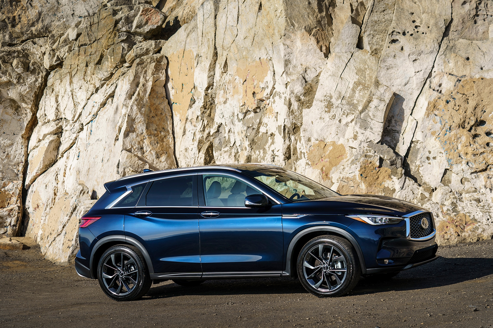 2019 infiniti qx50 first drive review automobile magazine. Black Bedroom Furniture Sets. Home Design Ideas