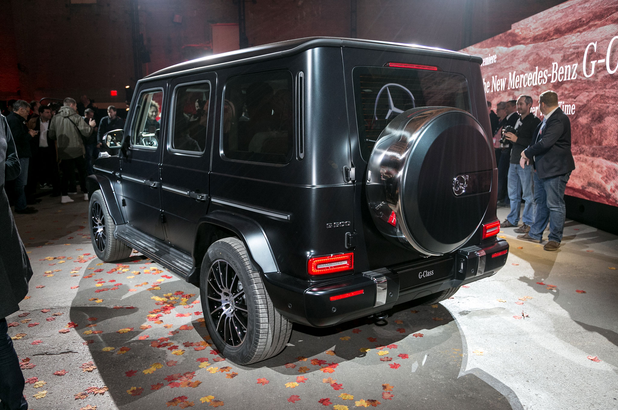 rear cuts view new g class show in detroit sale debuts compromise for the more side all on news benz mercedes down