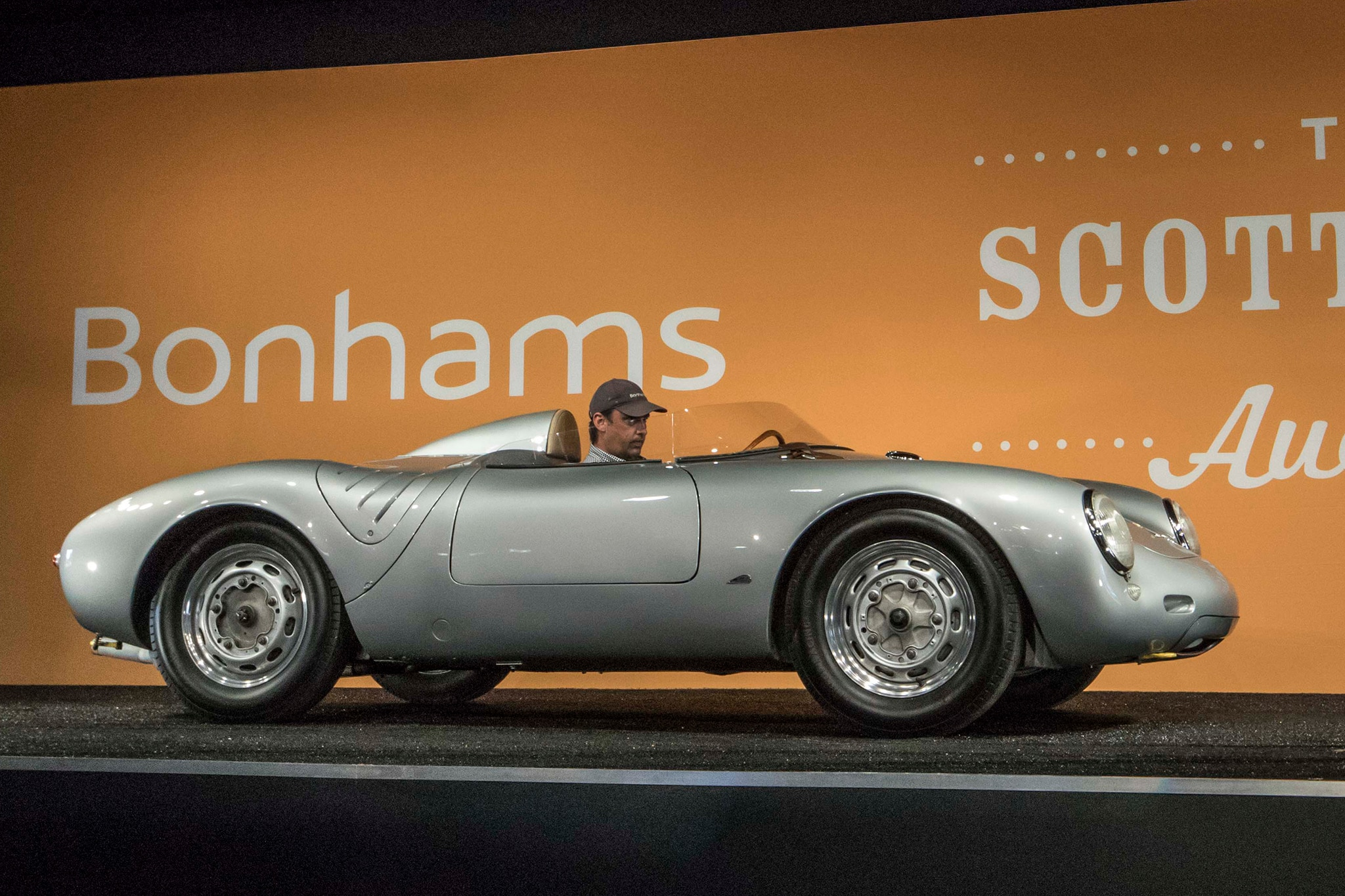 Courtesy Of Bonhams 1958 Porsche 550A Spyder