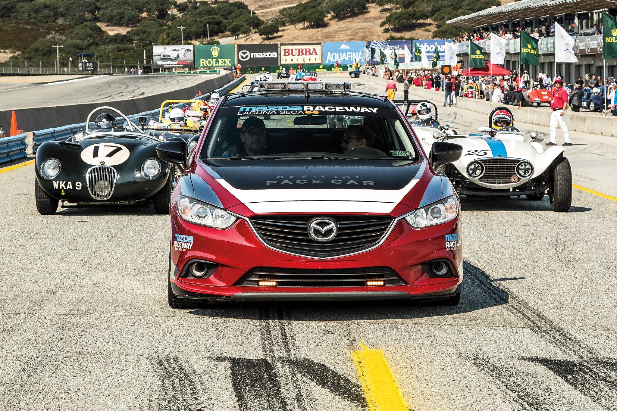 Mazda Raceway Laguna Seca Pace Car 02