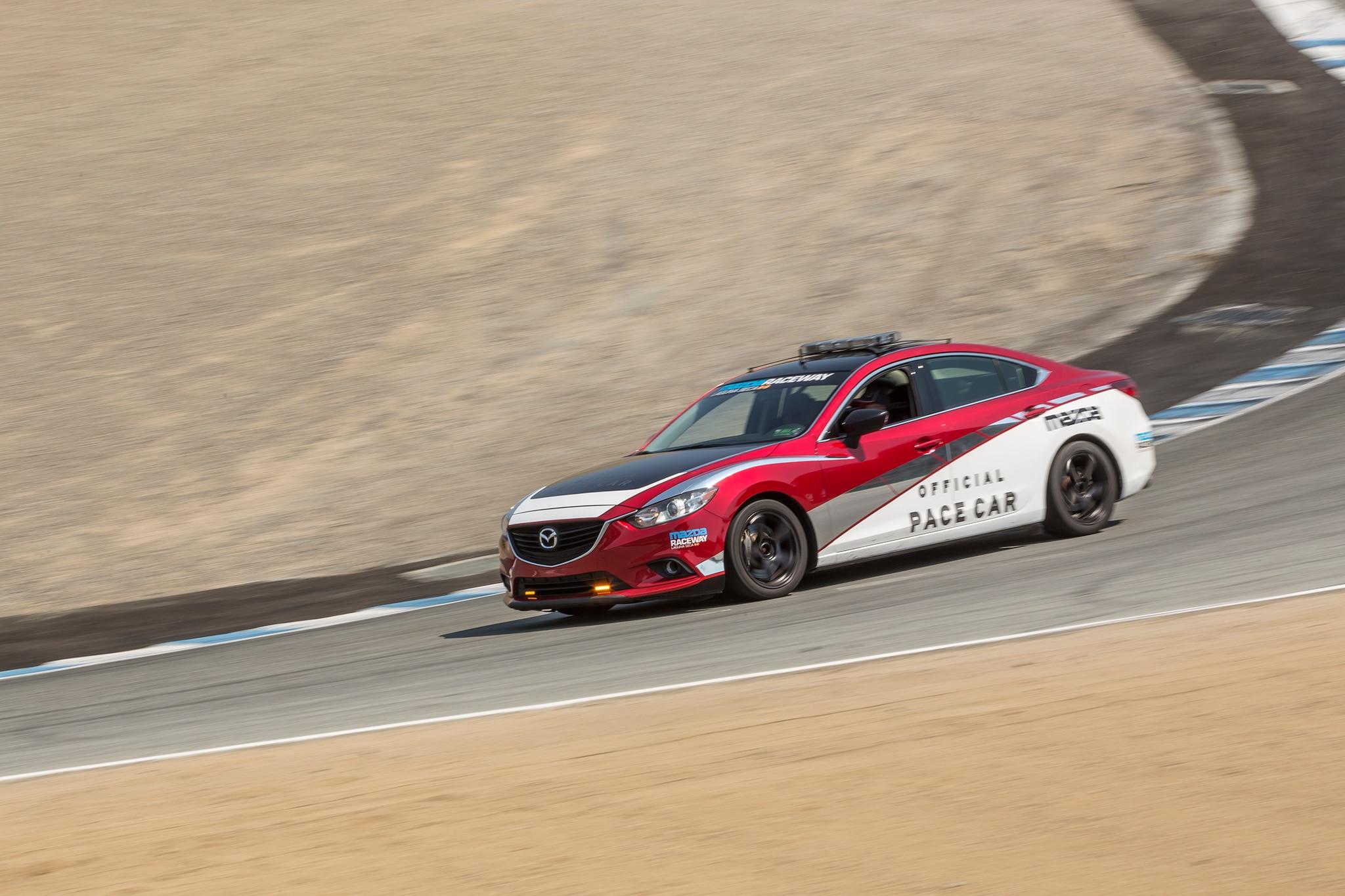 Lead Follow: Pacing Races at Mazda Raceway Laguna Seca is ...