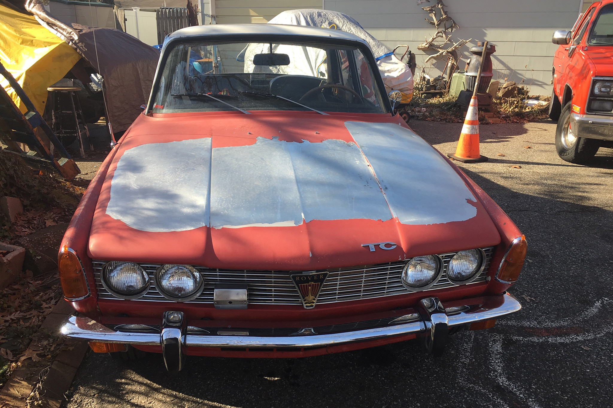 1969 Rover 2000TC Front