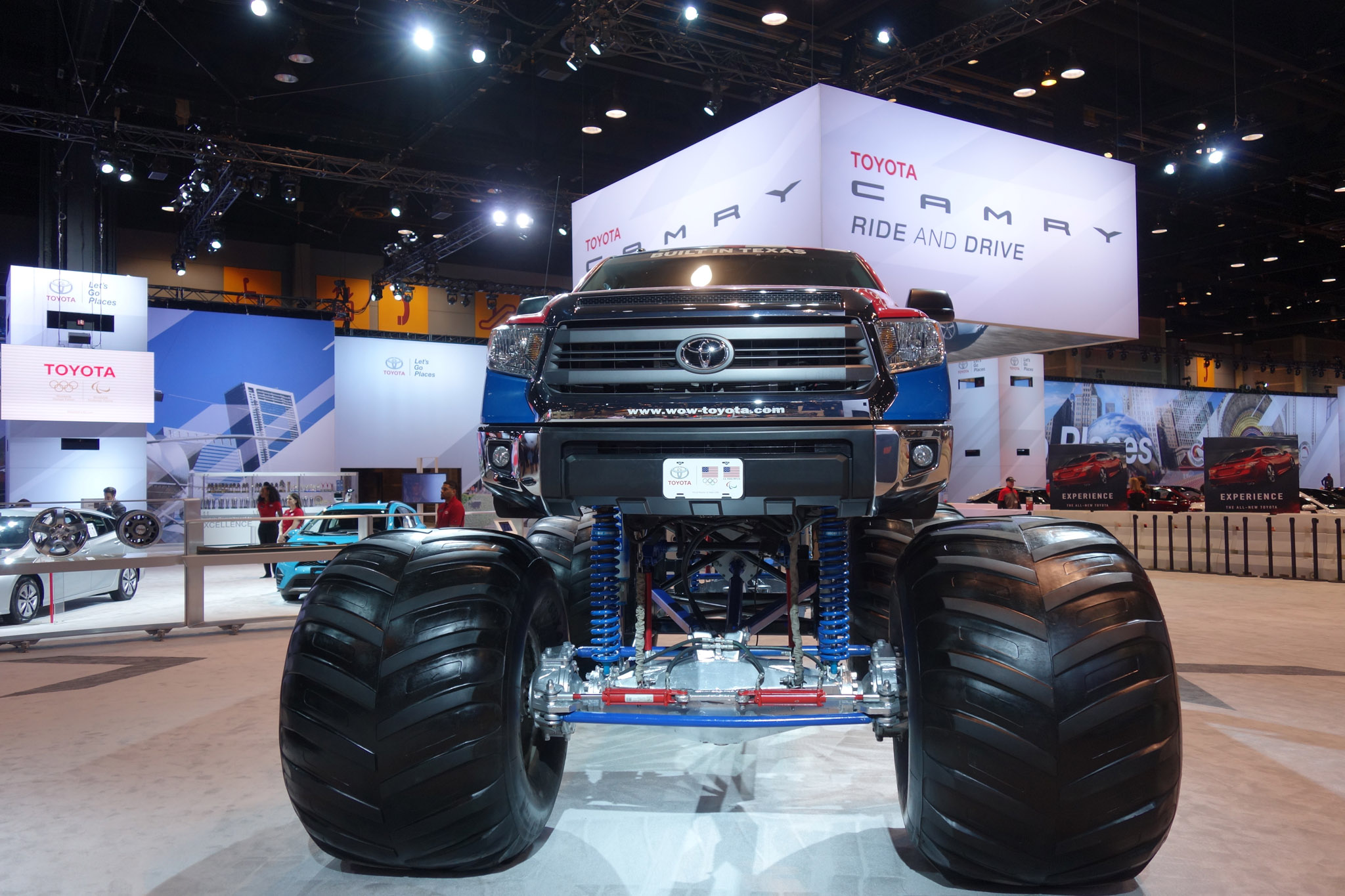 The Ford F Raptor is a lot of machine. In addition to the truck's massive footprint, it has extreme off-road racing shocks, a horsepower turbocharged V6, and a quick-shifting speed.