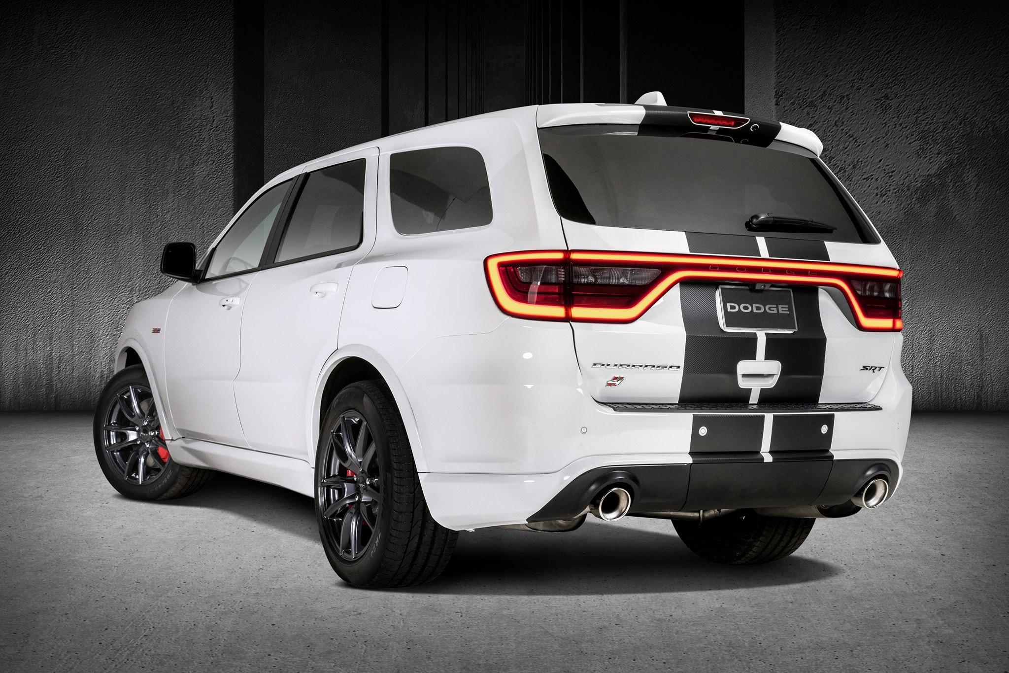 2018 Dodge Durango R T And Srt Gets Stripes And More Mopar