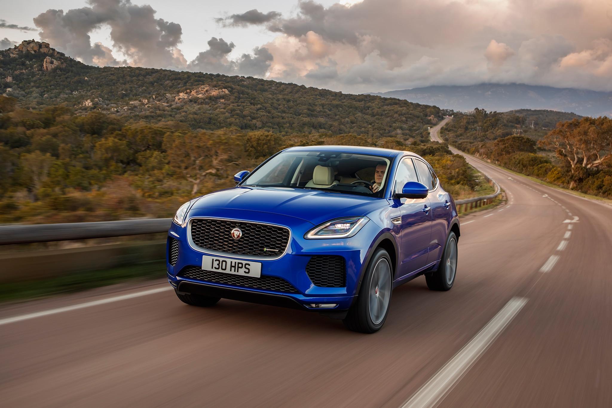 2018 jaguar e pace first drive review automobile magazine. Black Bedroom Furniture Sets. Home Design Ideas