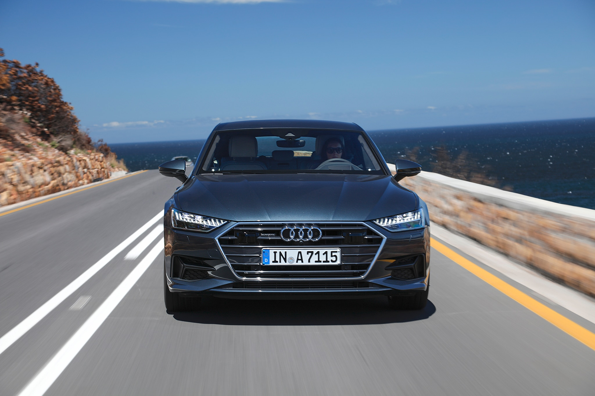 2019 audi a7 sportback first drive review automobile. Black Bedroom Furniture Sets. Home Design Ideas