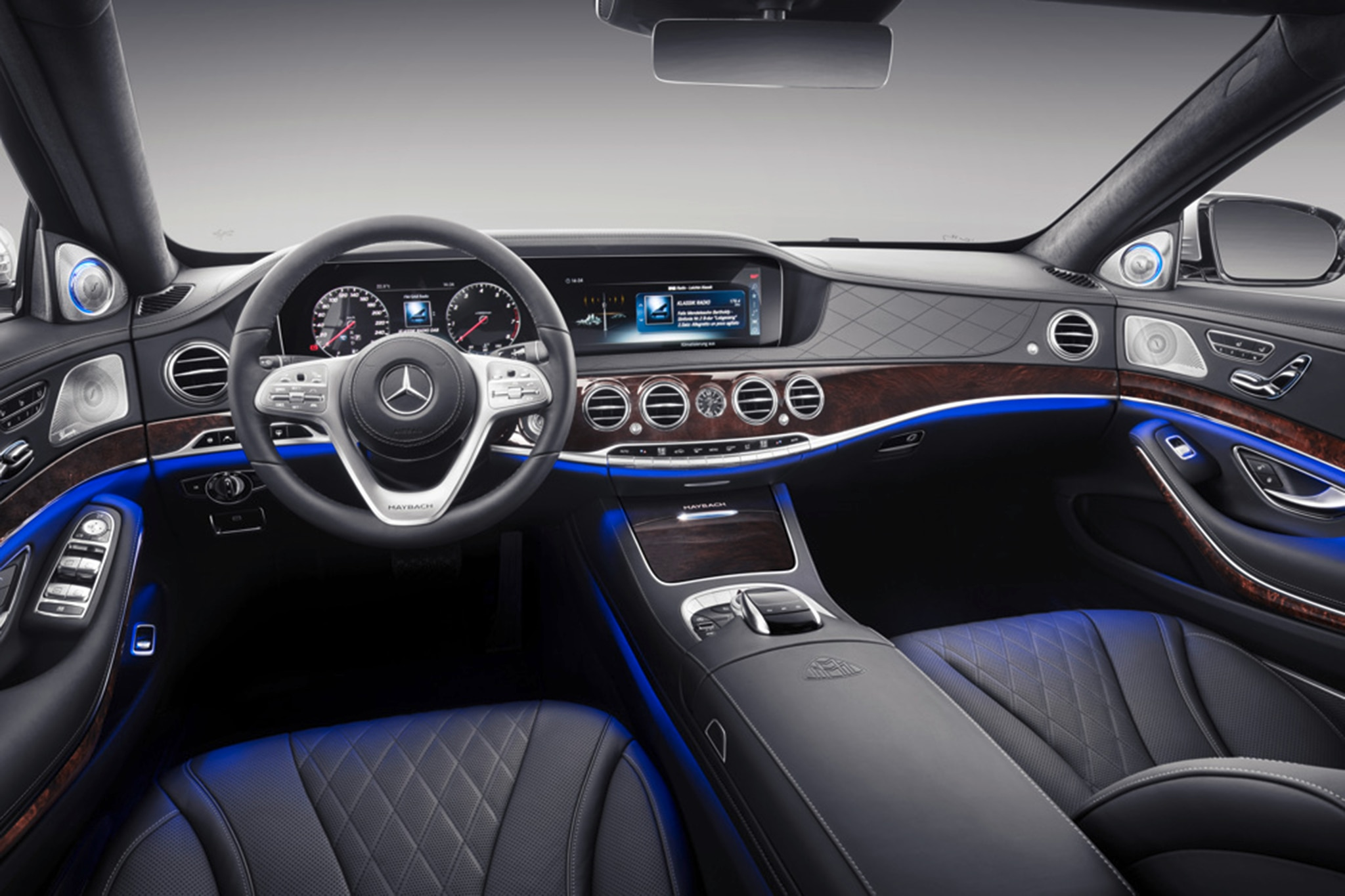 2019 mercedes maybach s class arrives in style. Black Bedroom Furniture Sets. Home Design Ideas