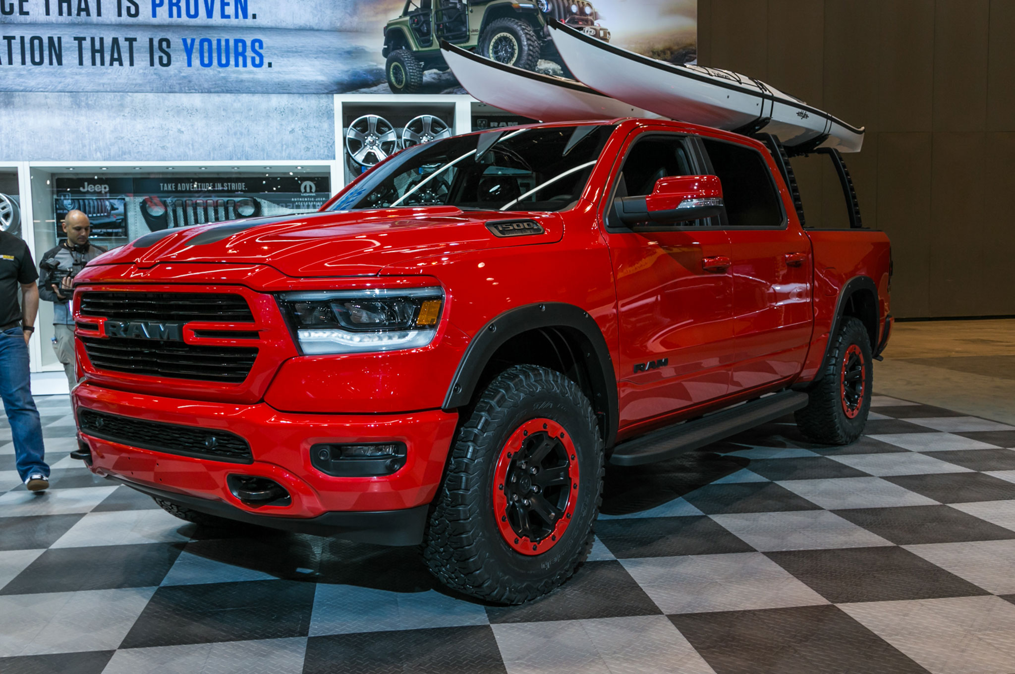 2019 Ram 1500 With Mopar Accessories Front Side View