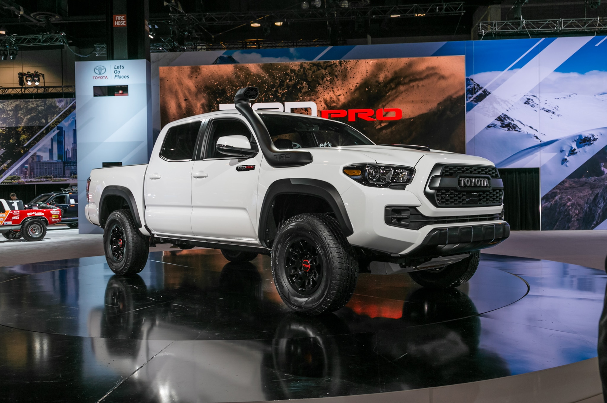 Toyota TRD Pro Off-Roaders Take the Stage in Chicago