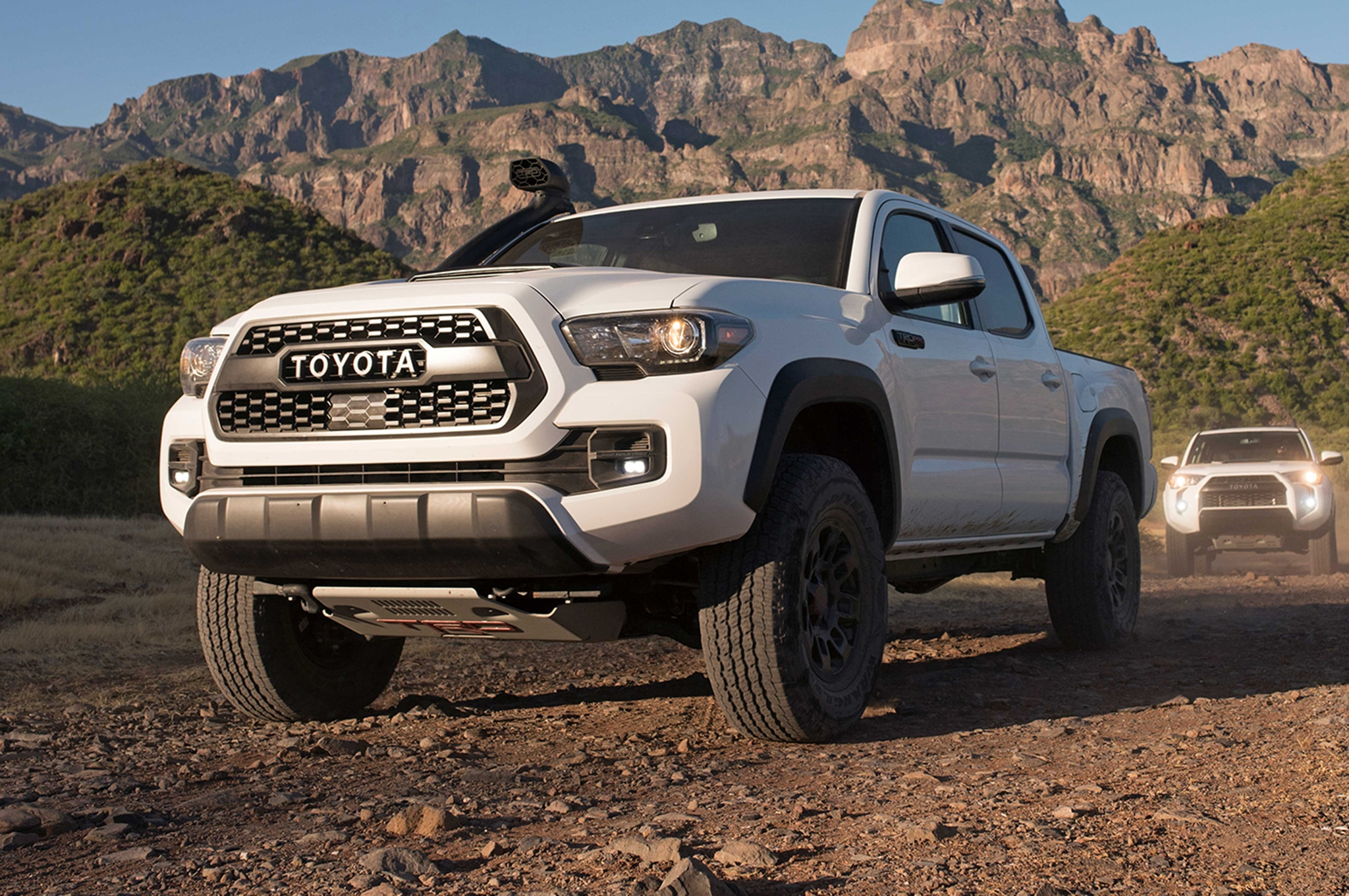 toyota trd pro lineup gets foxy for 2019 automobile magazine. Black Bedroom Furniture Sets. Home Design Ideas