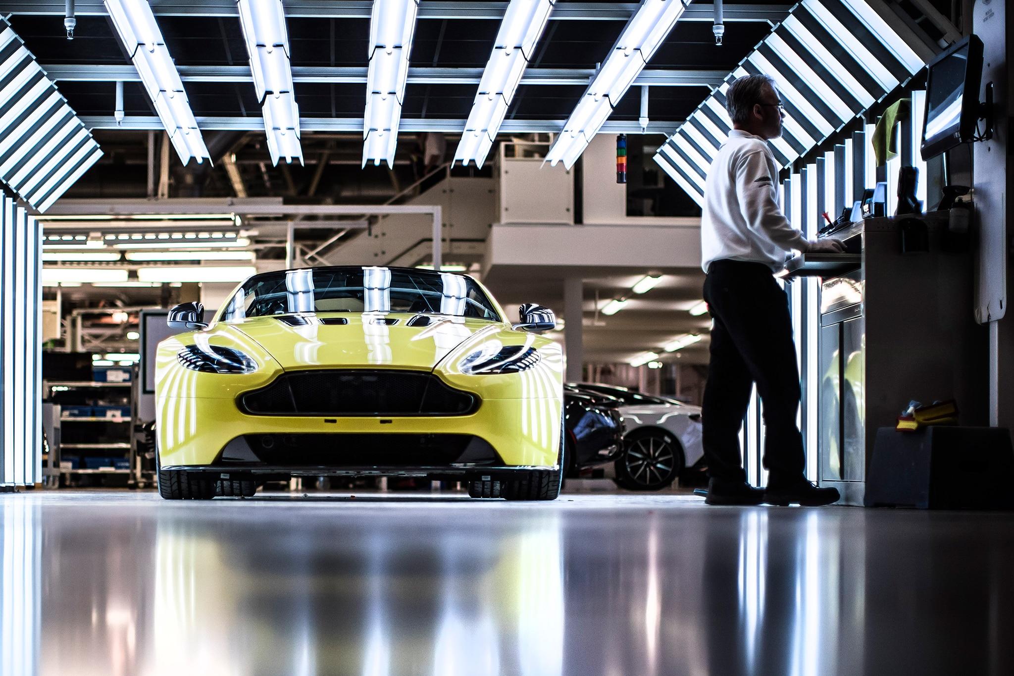 Aston Martin Manufacturing 12
