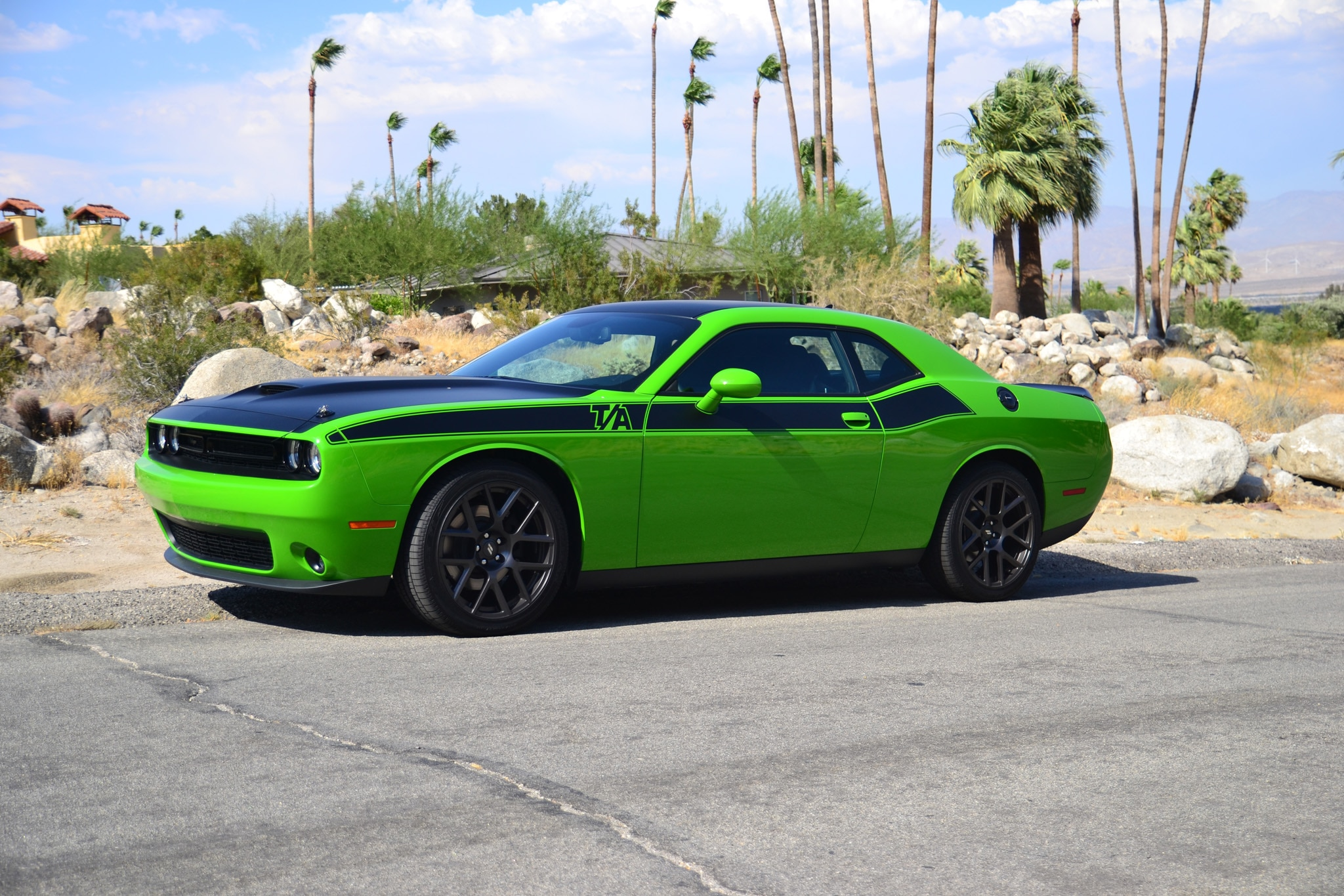 Dodge Challenger TA Palm Springs Front Side