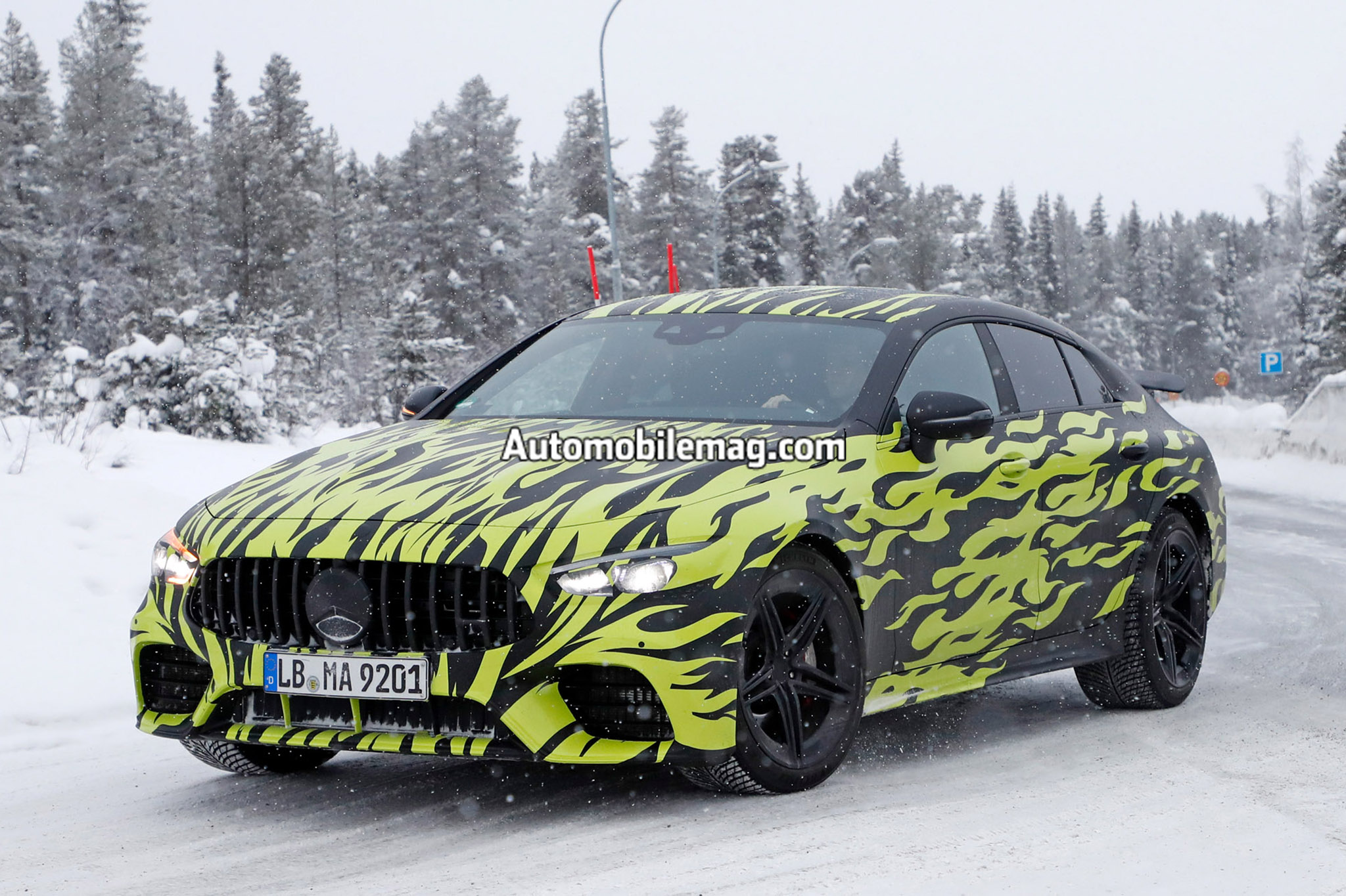 New 2018 Mercedes-AMG GT four-door leaks ahead of Geneva reveal