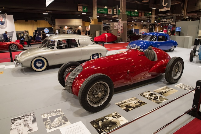seven cool things we saw at retromobile 2018 automobile magazine. Black Bedroom Furniture Sets. Home Design Ideas