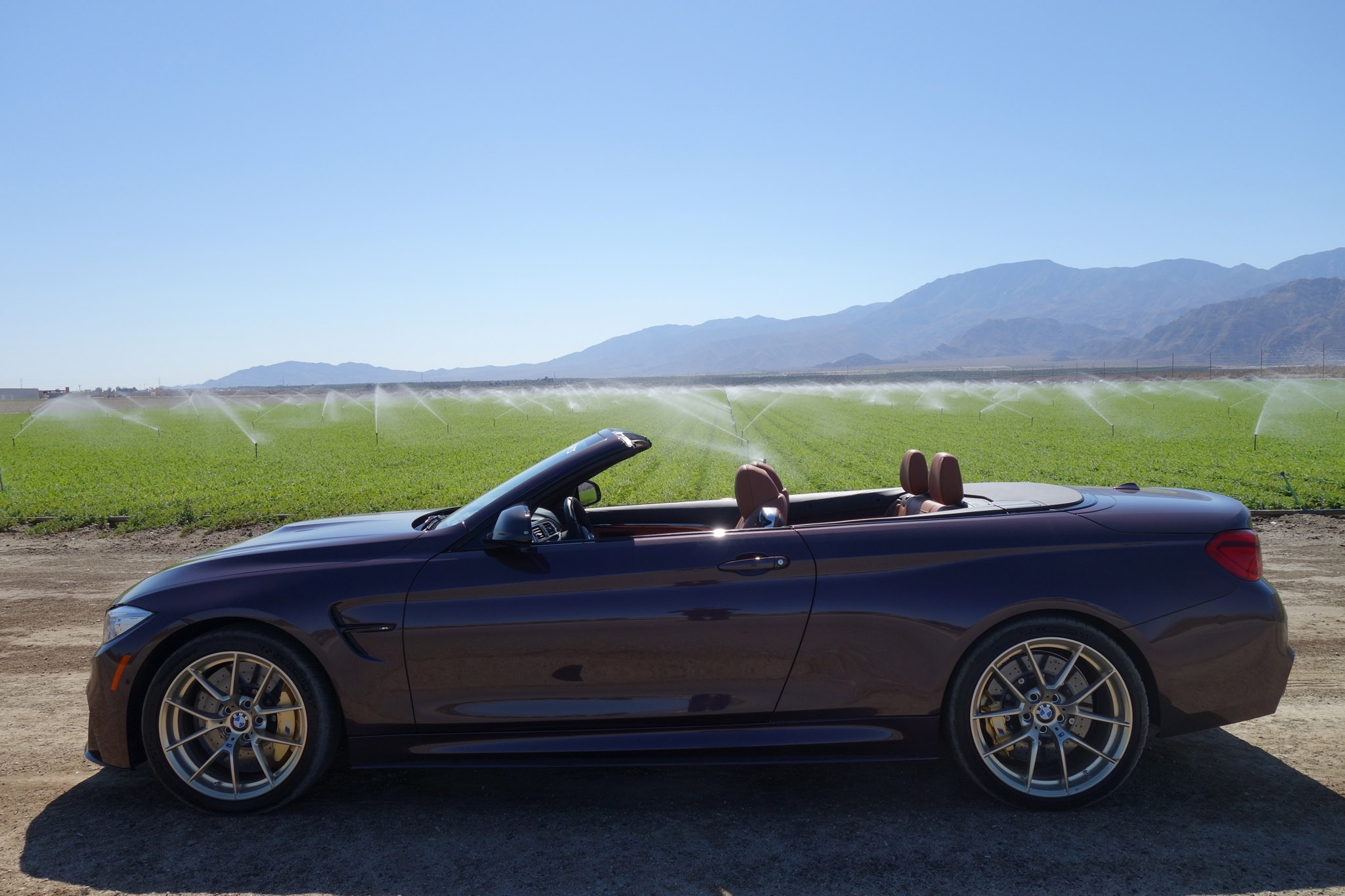 2018 BMW M4 Convertible With M Performance Parts Field