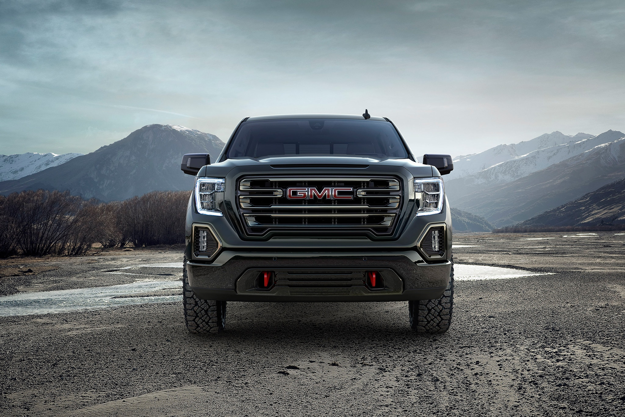 Meet the 2019 GMC Sierra AT4: Lifted and loaded