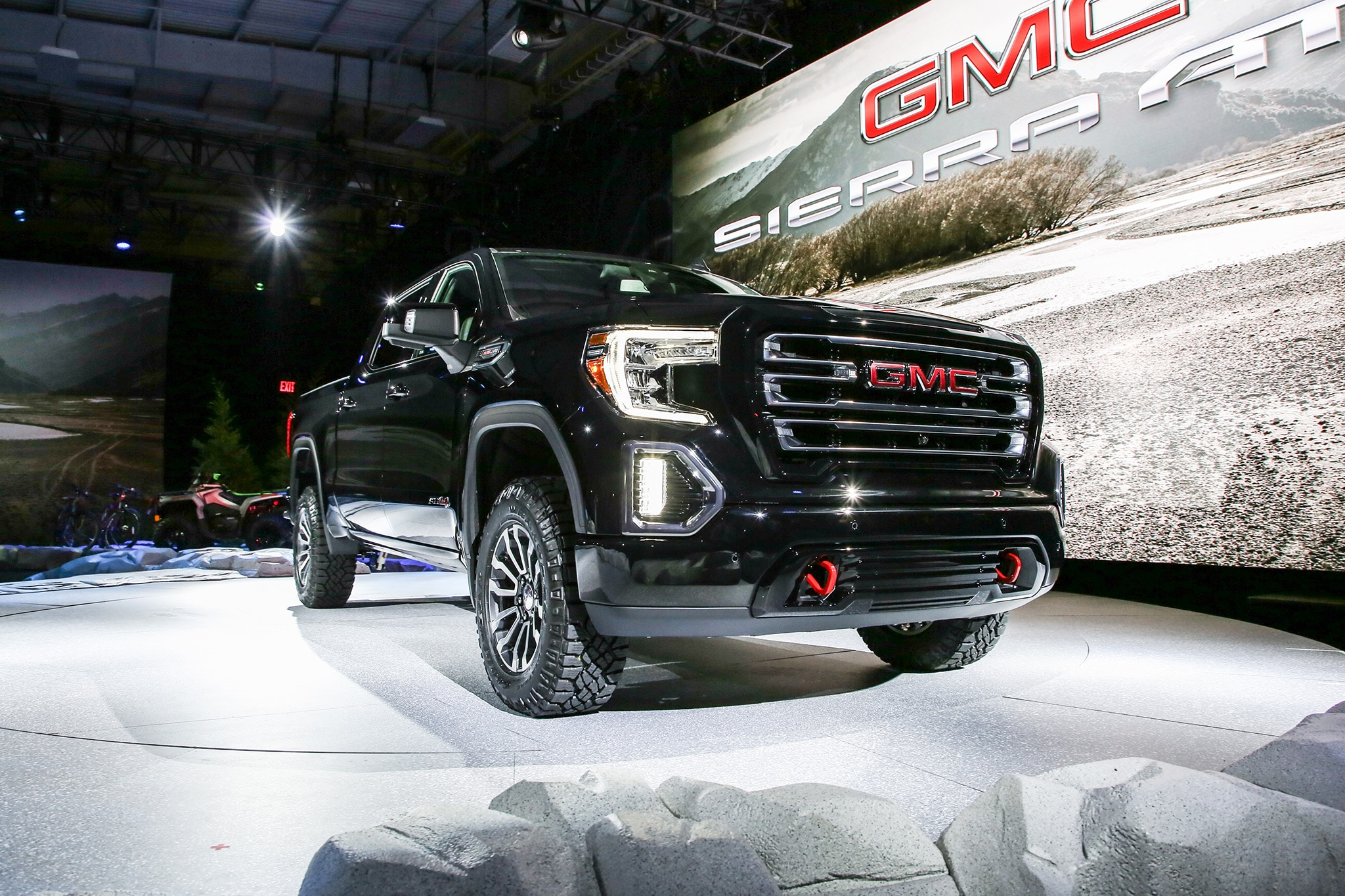2019 GMC Sierra AT4 Gets More Off-Road Chops   Automobile Magazine