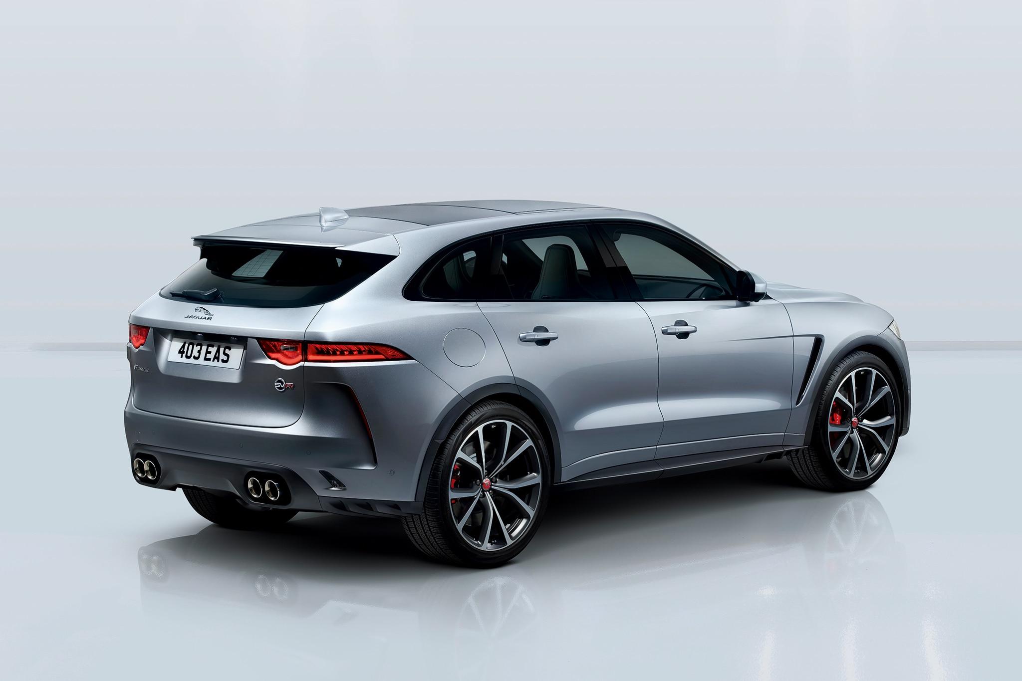 550 hp 2019 jaguar f pace svr is the v 8 variant we 39 ve been waiting for automobile magazine. Black Bedroom Furniture Sets. Home Design Ideas