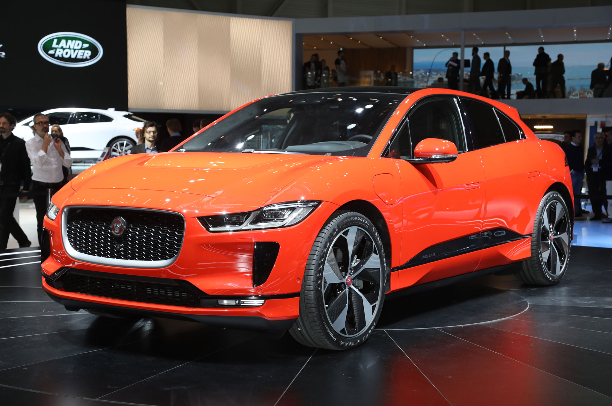 all electric 2019 jaguar i pace launches with 240 miles of range 394 hp automobile magazine. Black Bedroom Furniture Sets. Home Design Ideas