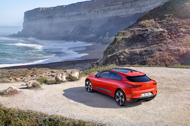 AllElectric Jaguar IPace Launches With Miles Of Range - Sports cars 394