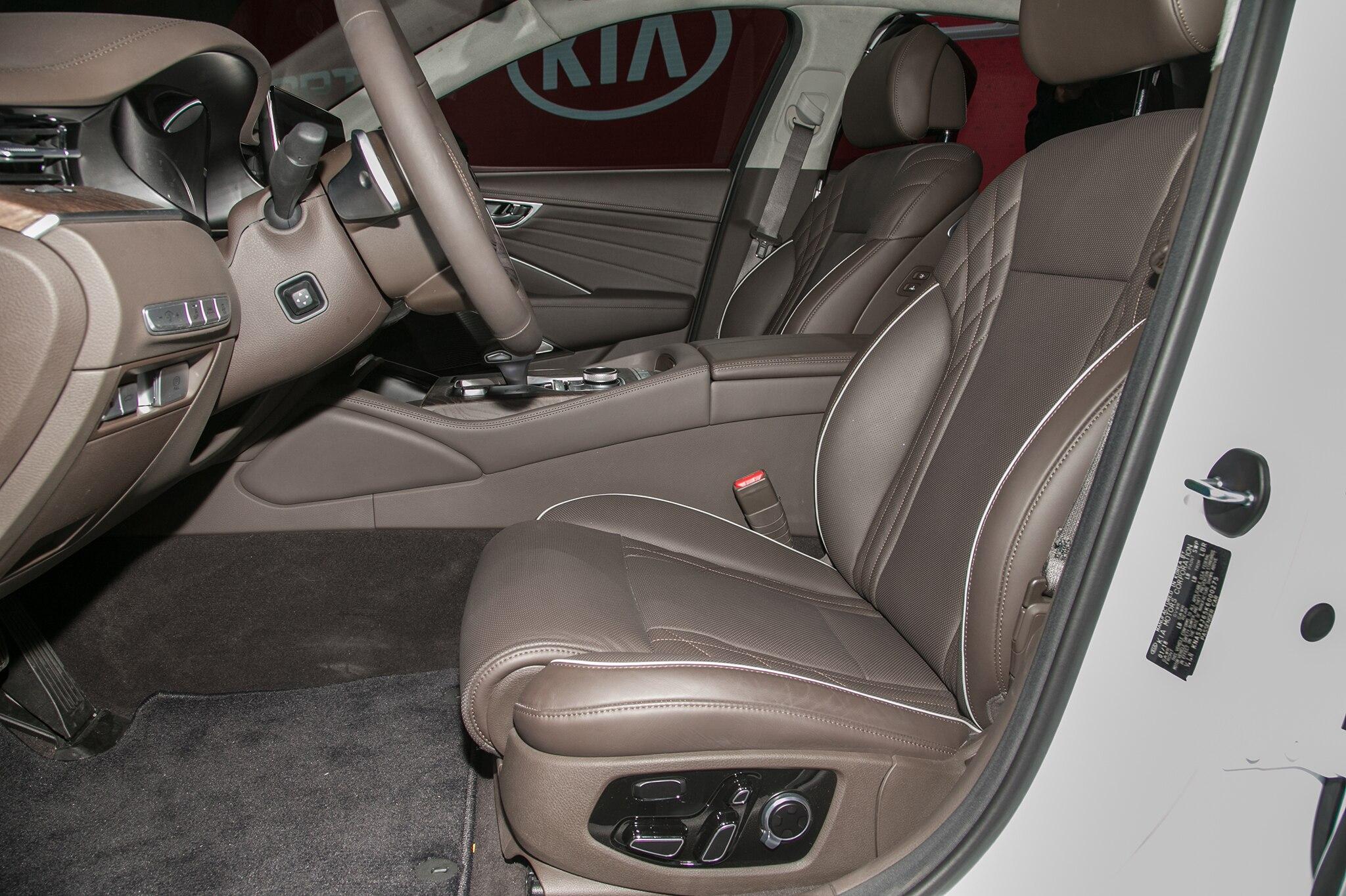 the kia ramps up york roadshow new luxury cost sedan news fancy