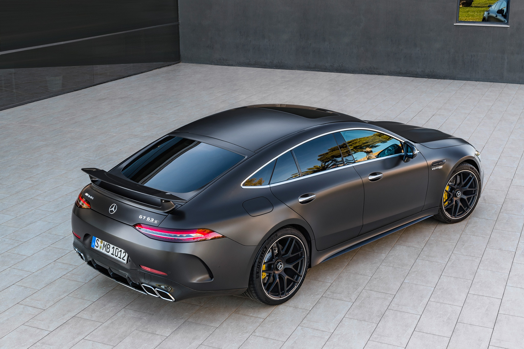 2019 mercedes amg gt 4 door coupe arrives at last automobile magazine. Black Bedroom Furniture Sets. Home Design Ideas