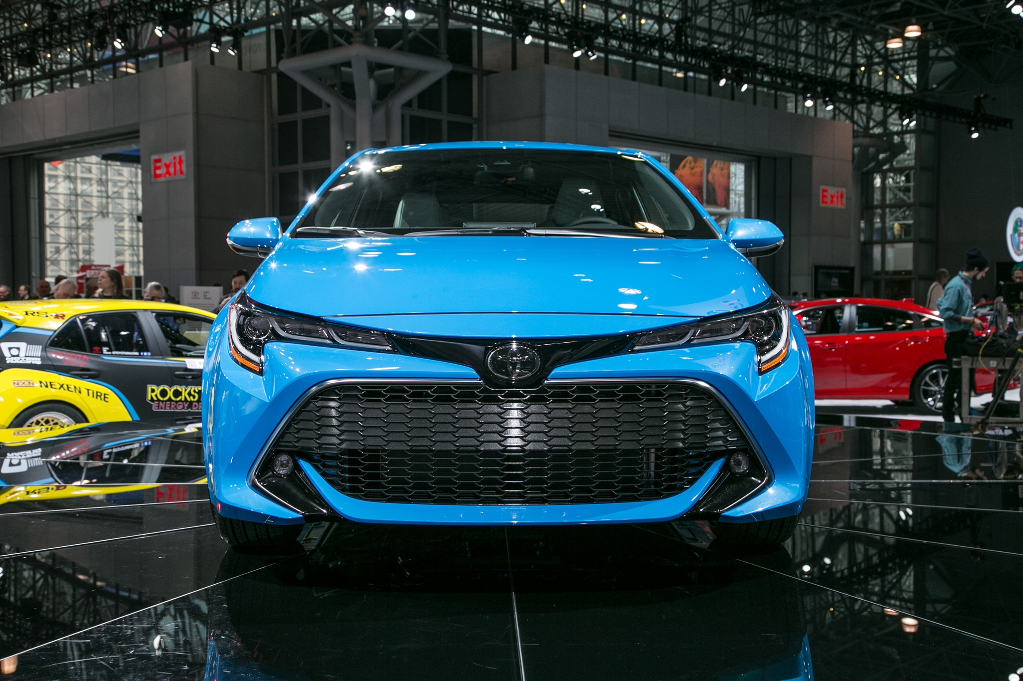 2019 Toyota Corolla Hatchback Hatches Outside of Javits ...