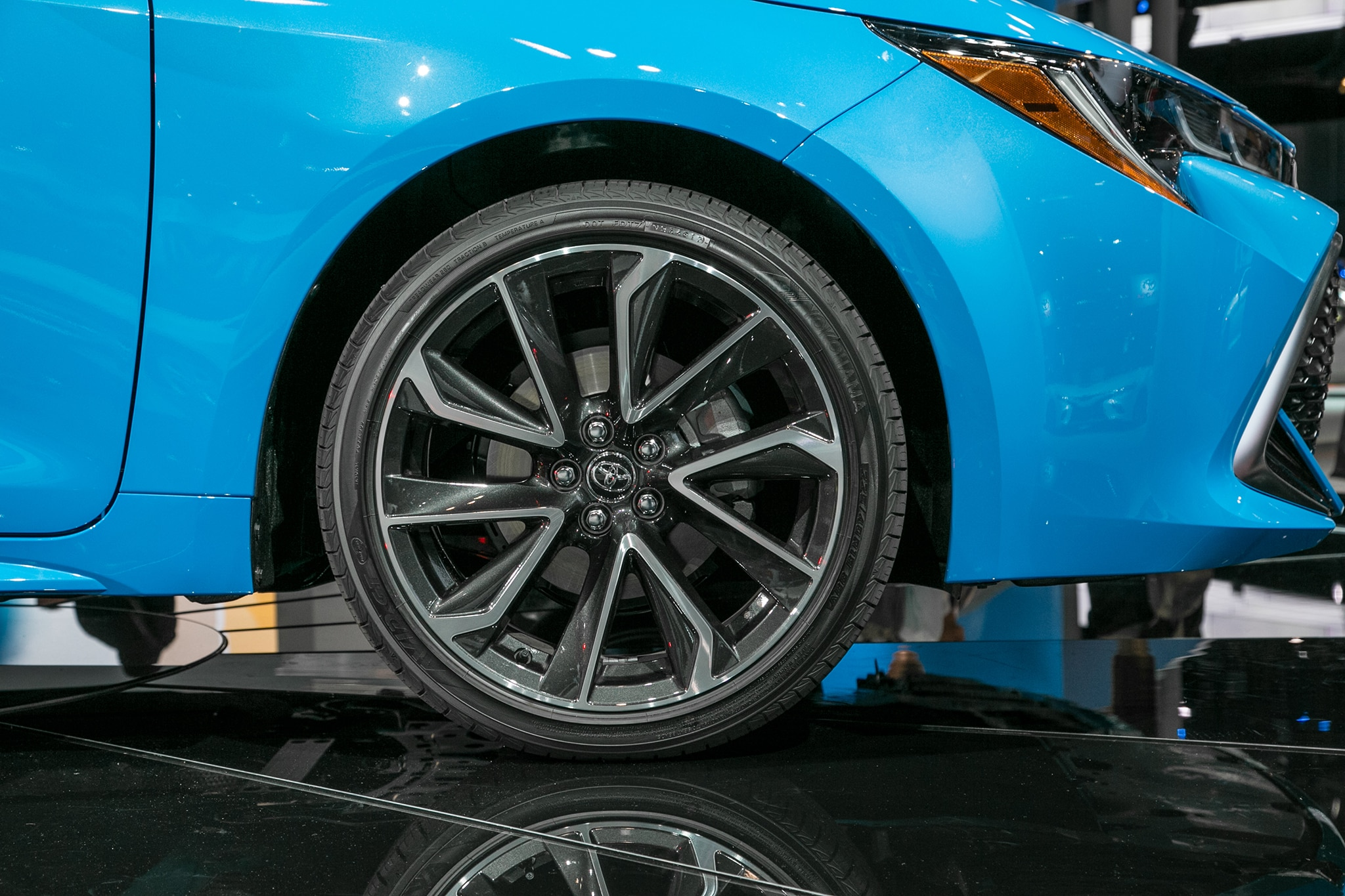 14 Inch Rims For Toyota Corolla >> 2019 Toyota Corolla Hatchback Hatches Outside of Javits Center | Automobile Magazine