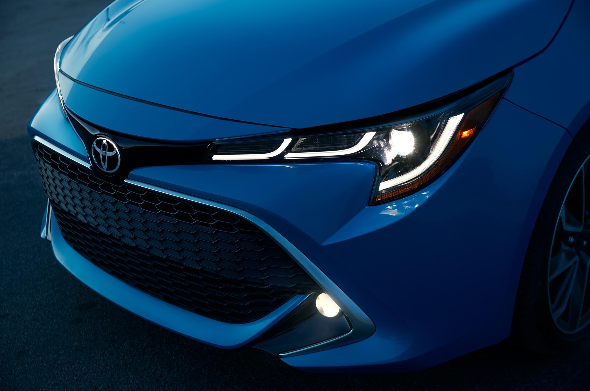 2019 Toyota Corolla Hatchback Hatches Outside of Javits ...