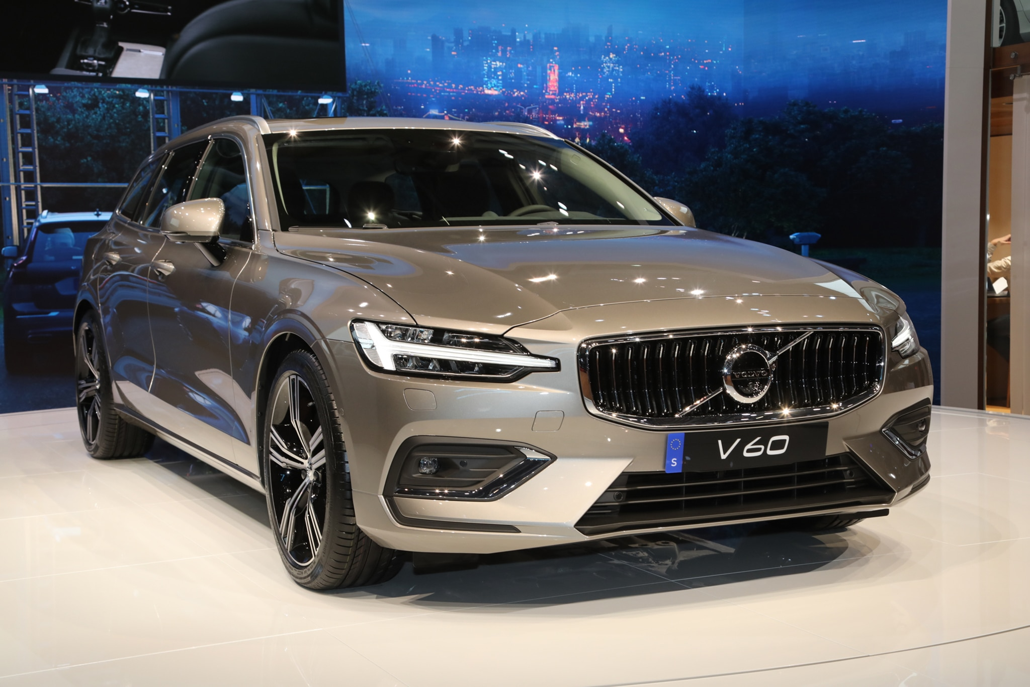 2019 Volvo V60 Joins The Geneva Auto Show Automobile