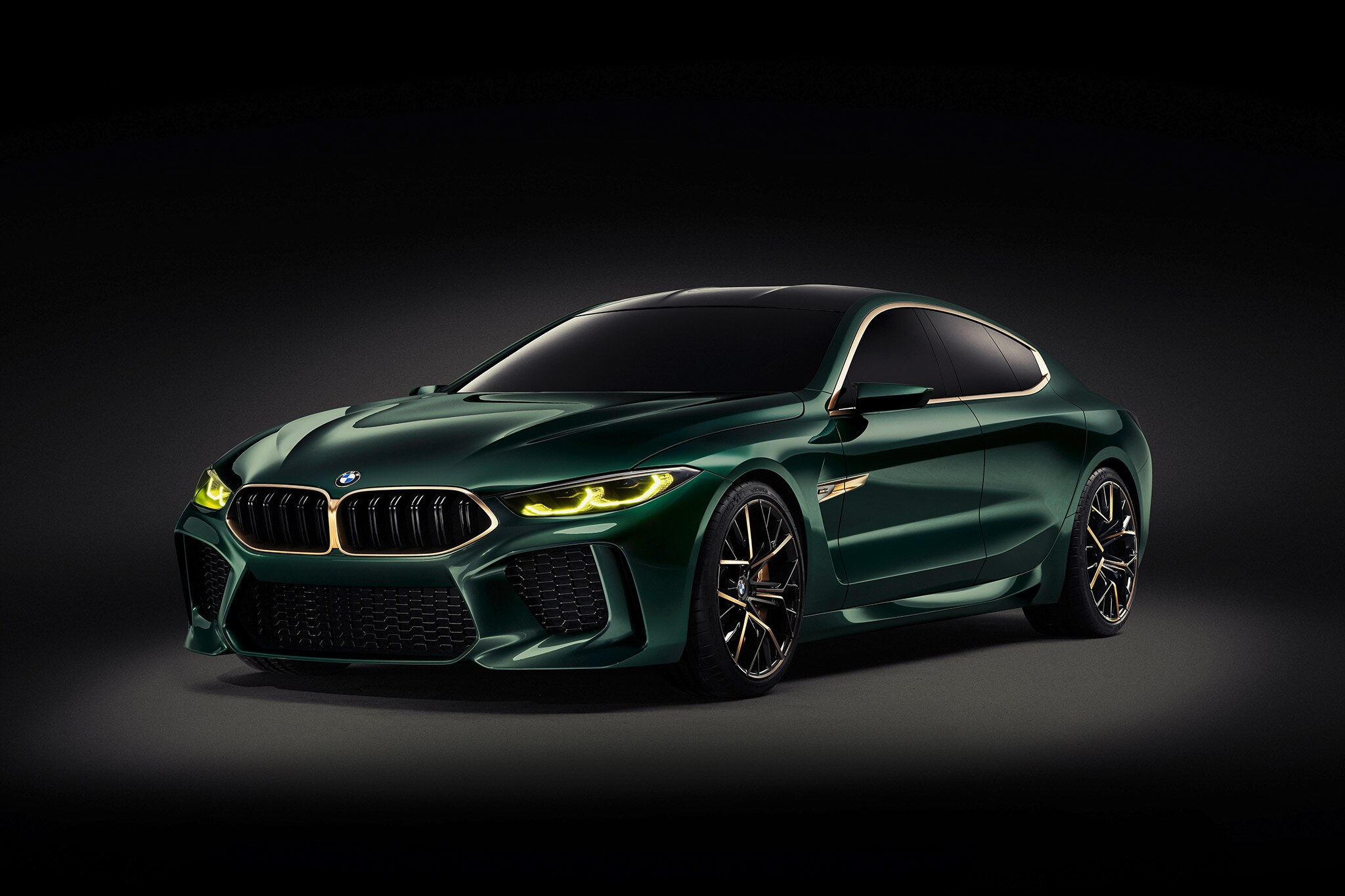 fourdoor bmw concept m8 gran coupe concept unveiled in