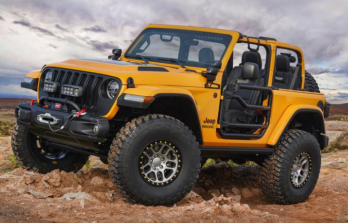 Awesome Off-Road Jeep And Mopar Concepts For 2018