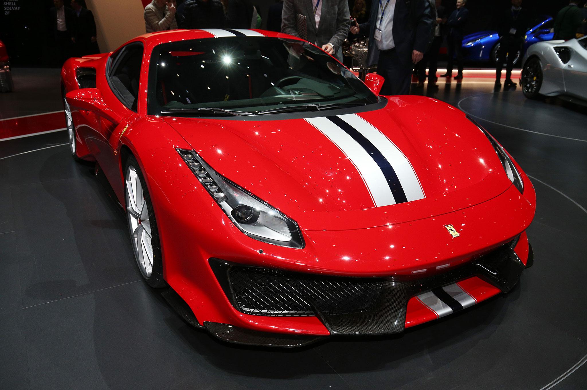 2018 Ferrari 488 Pista Strikes A Pose In Geneva