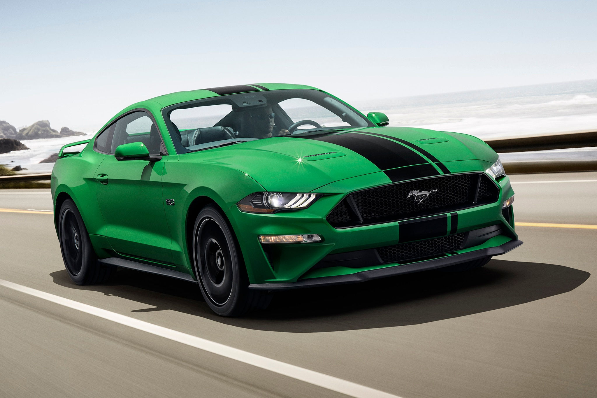 2019 ford mustang gets a splash of need for green automobile magazine. Black Bedroom Furniture Sets. Home Design Ideas