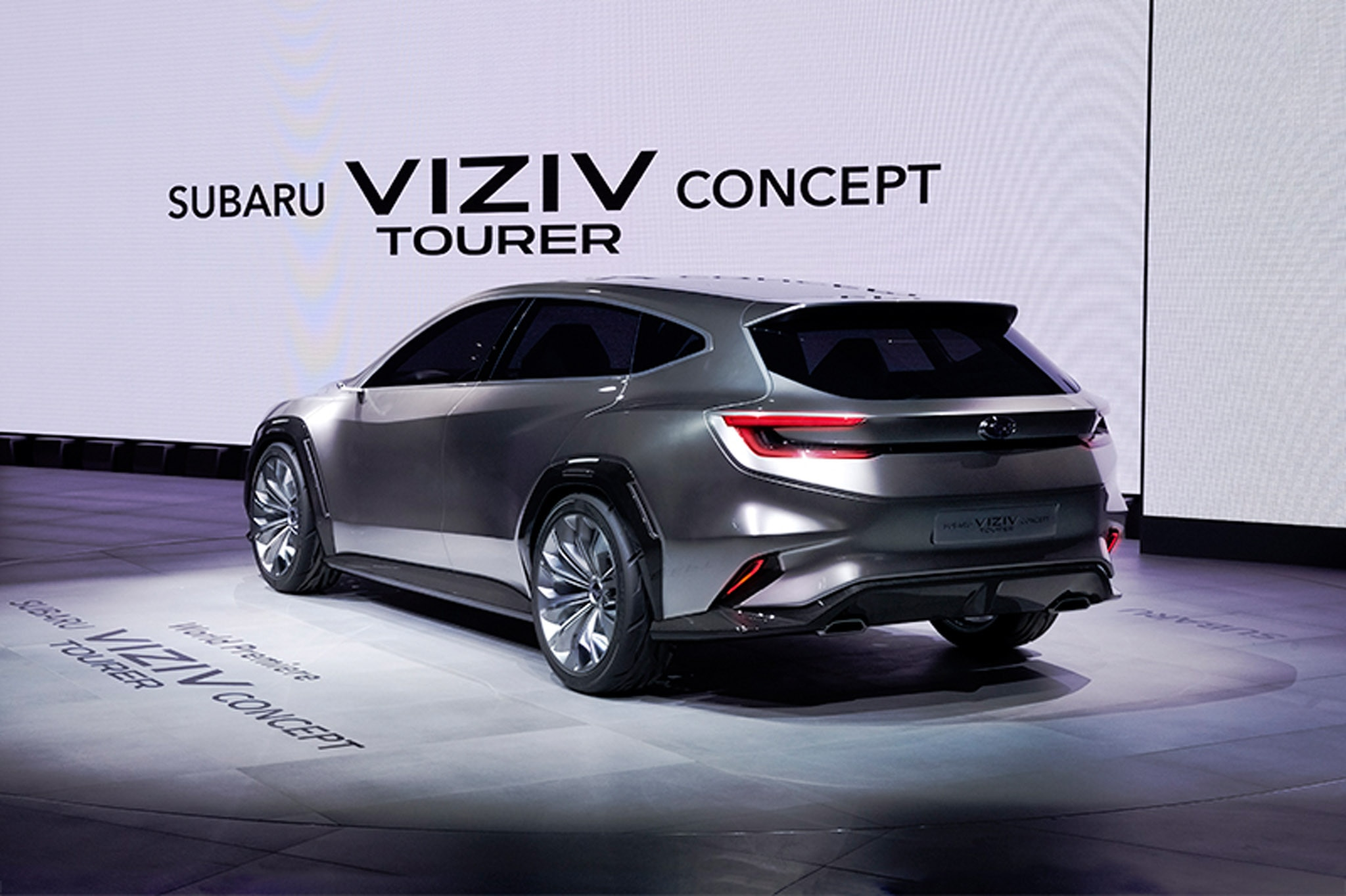 Subaru Viziv Tourer Concept is a Wagon to Die For ...