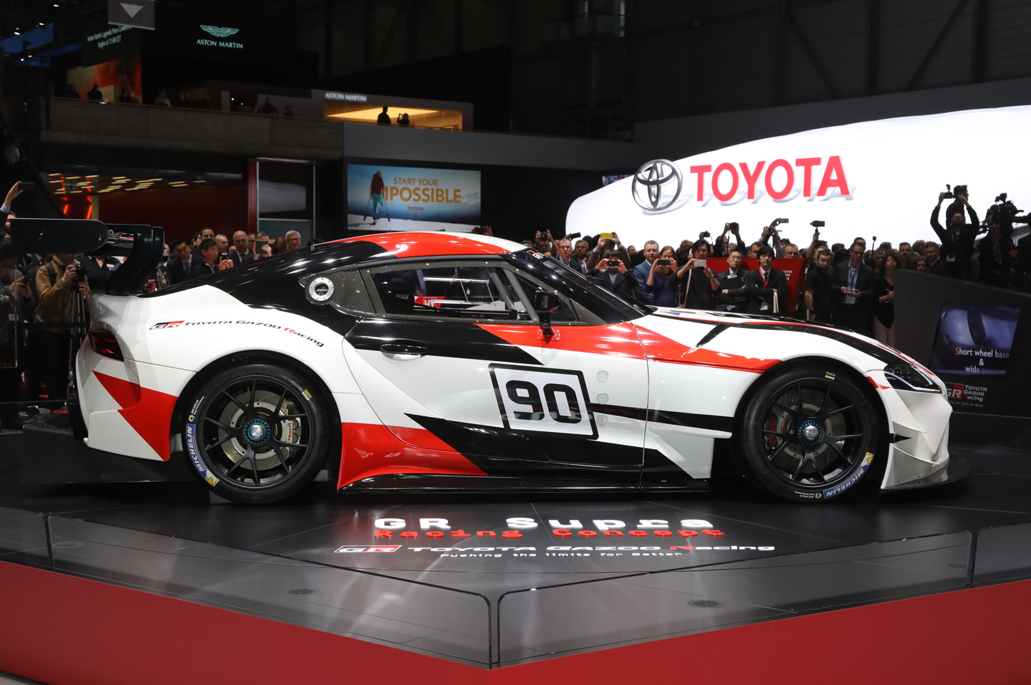 GR Toyota Supra Race Car Concept is a Mean Racing Machine ...
