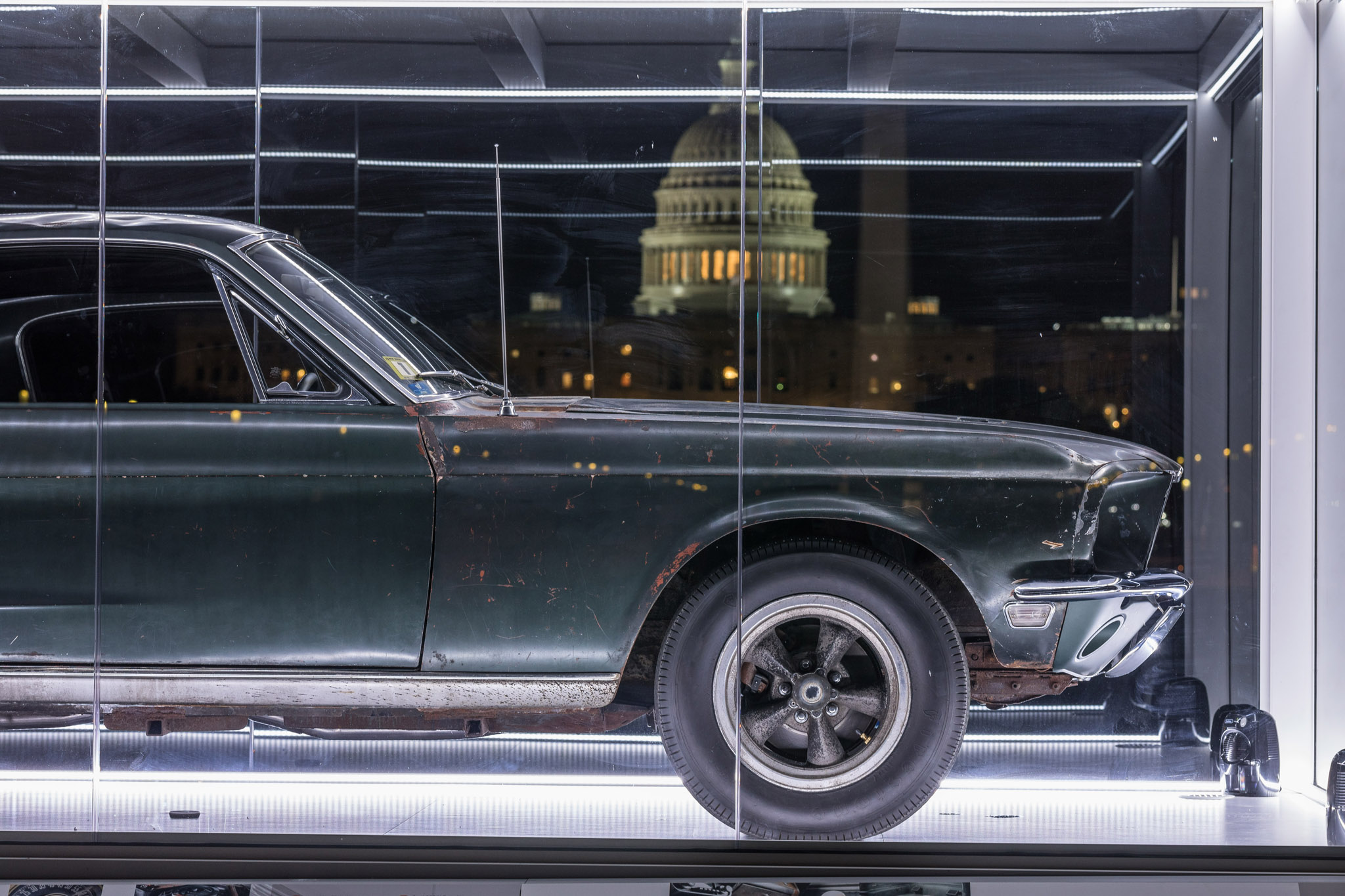1968 ford mustang gt from bullitt goes to washington. Black Bedroom Furniture Sets. Home Design Ideas