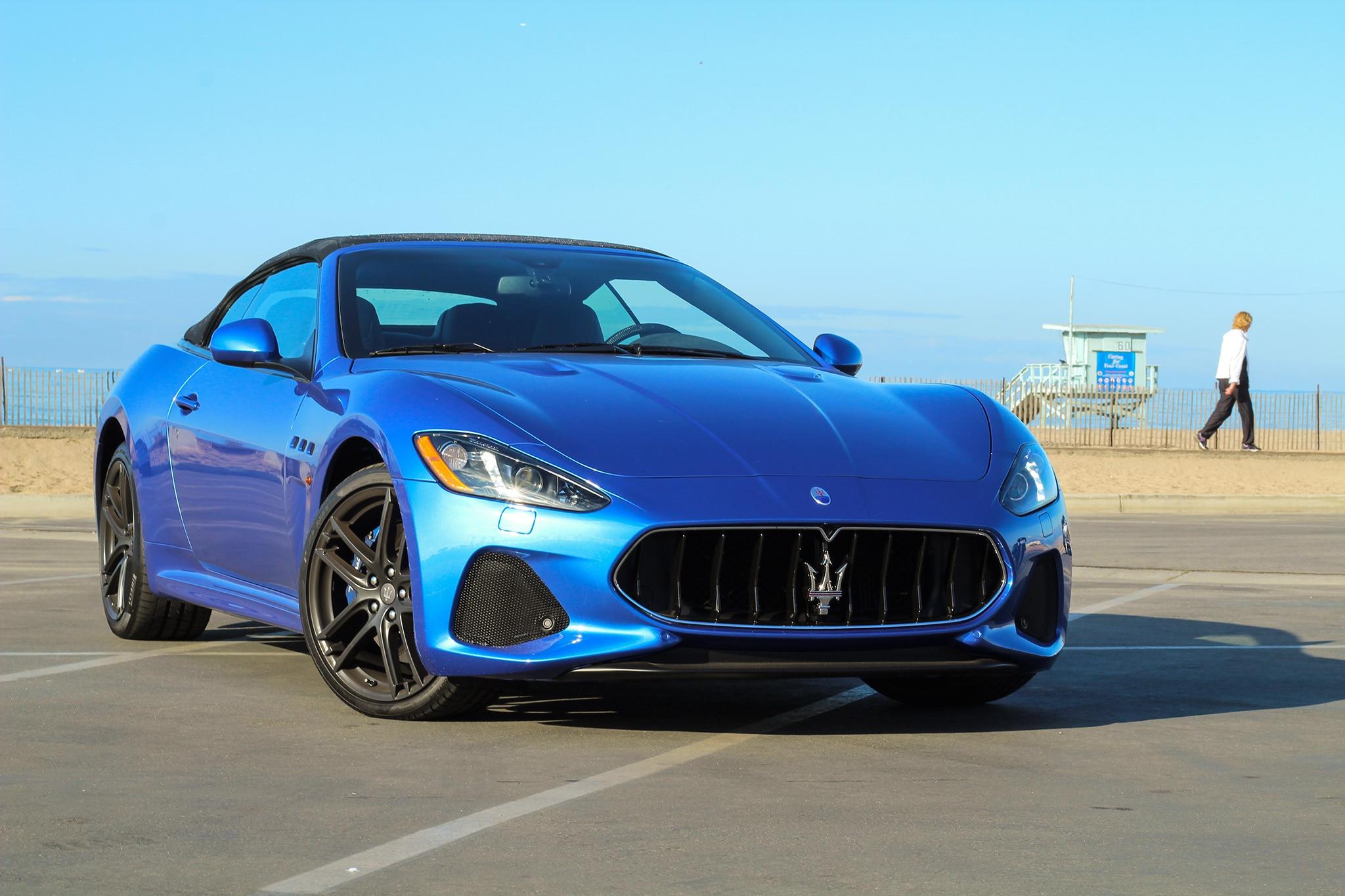 2018 Maserati GranTurismo Convertible MC e Week Review