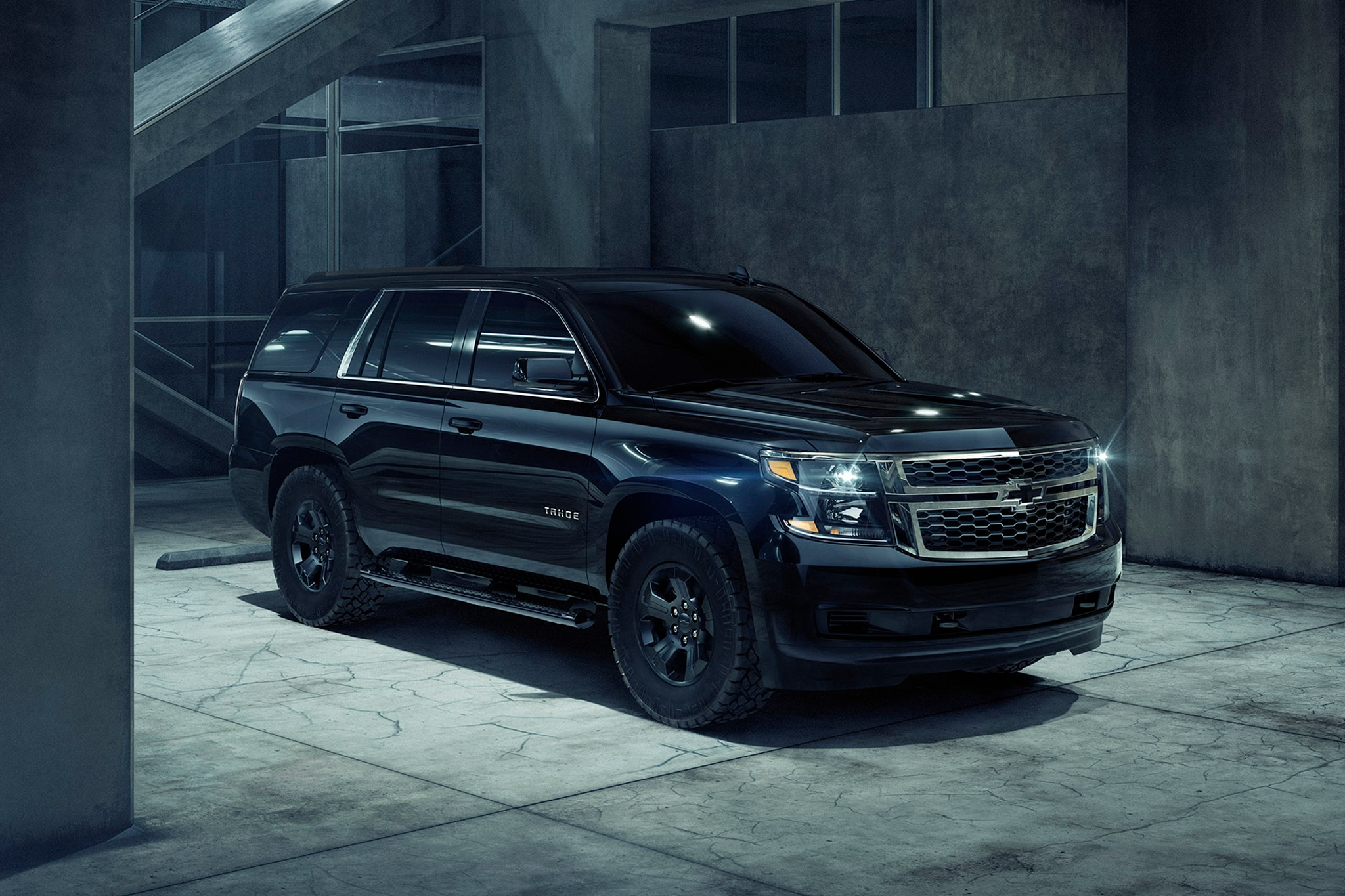 2018 Chevrolet Tahoe Custom Midnight Attempts to Build ...