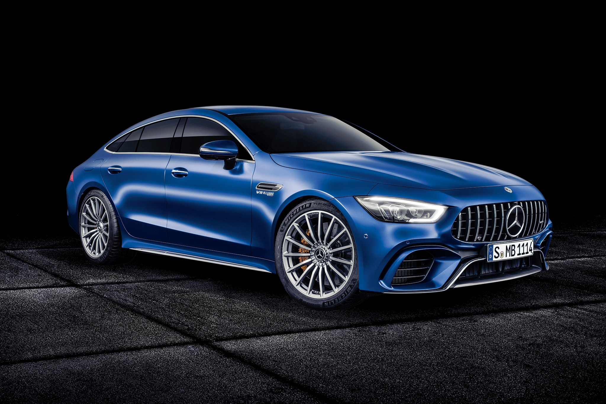 2019 Mercedes AMG GT 4 Door Coupe