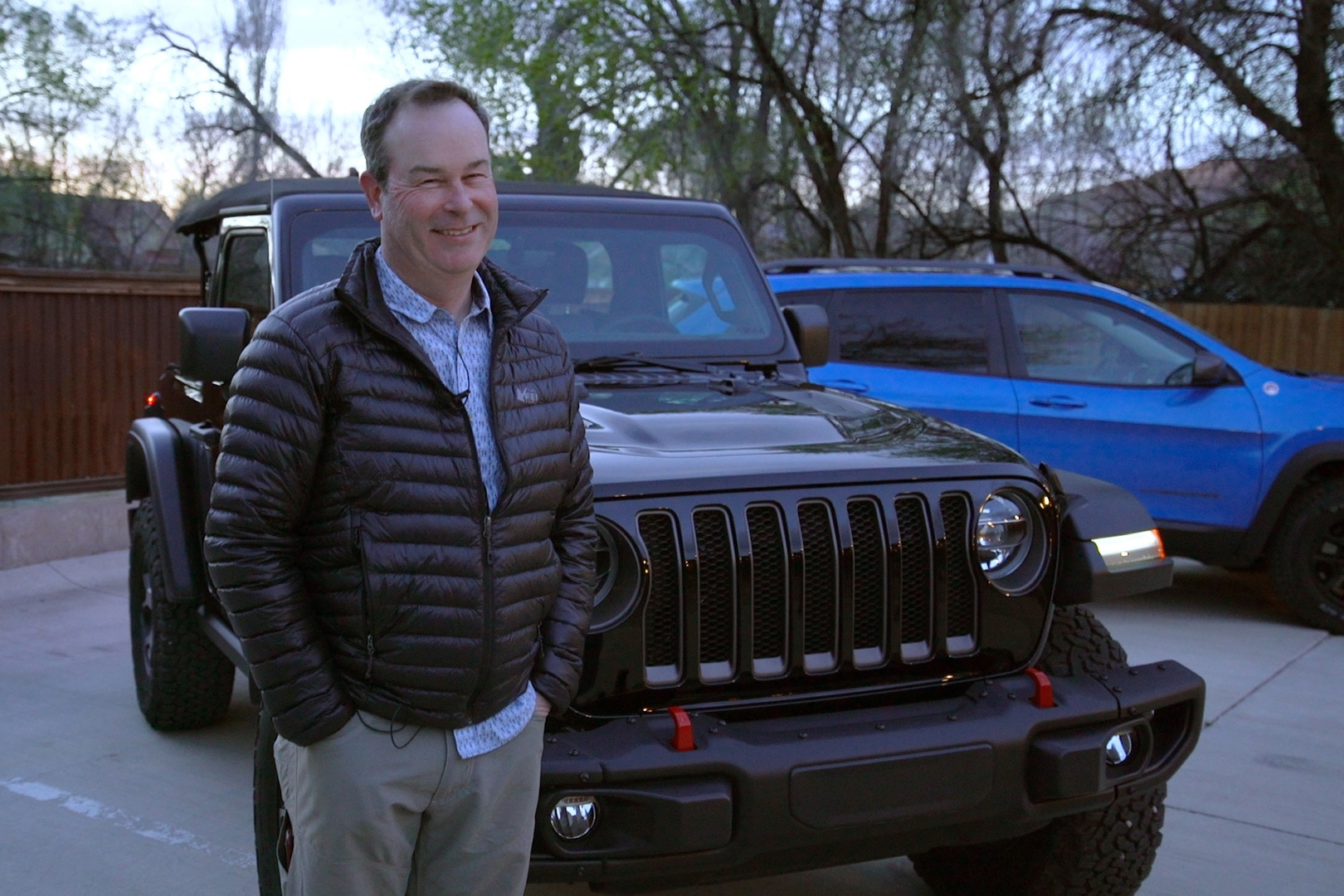 WATCH: Five Questions With The Man Who Designs Jeeps
