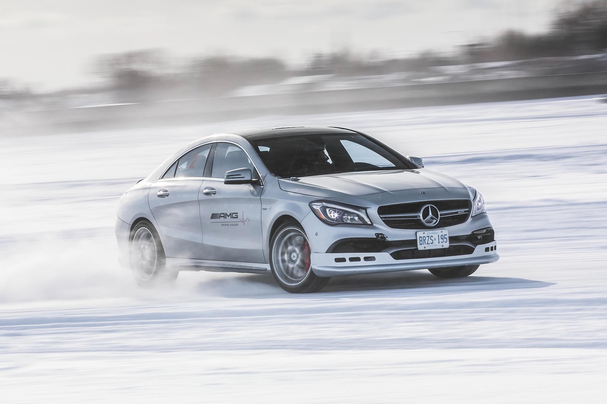 Mercedes AMG Winter Sporting Driving School 01